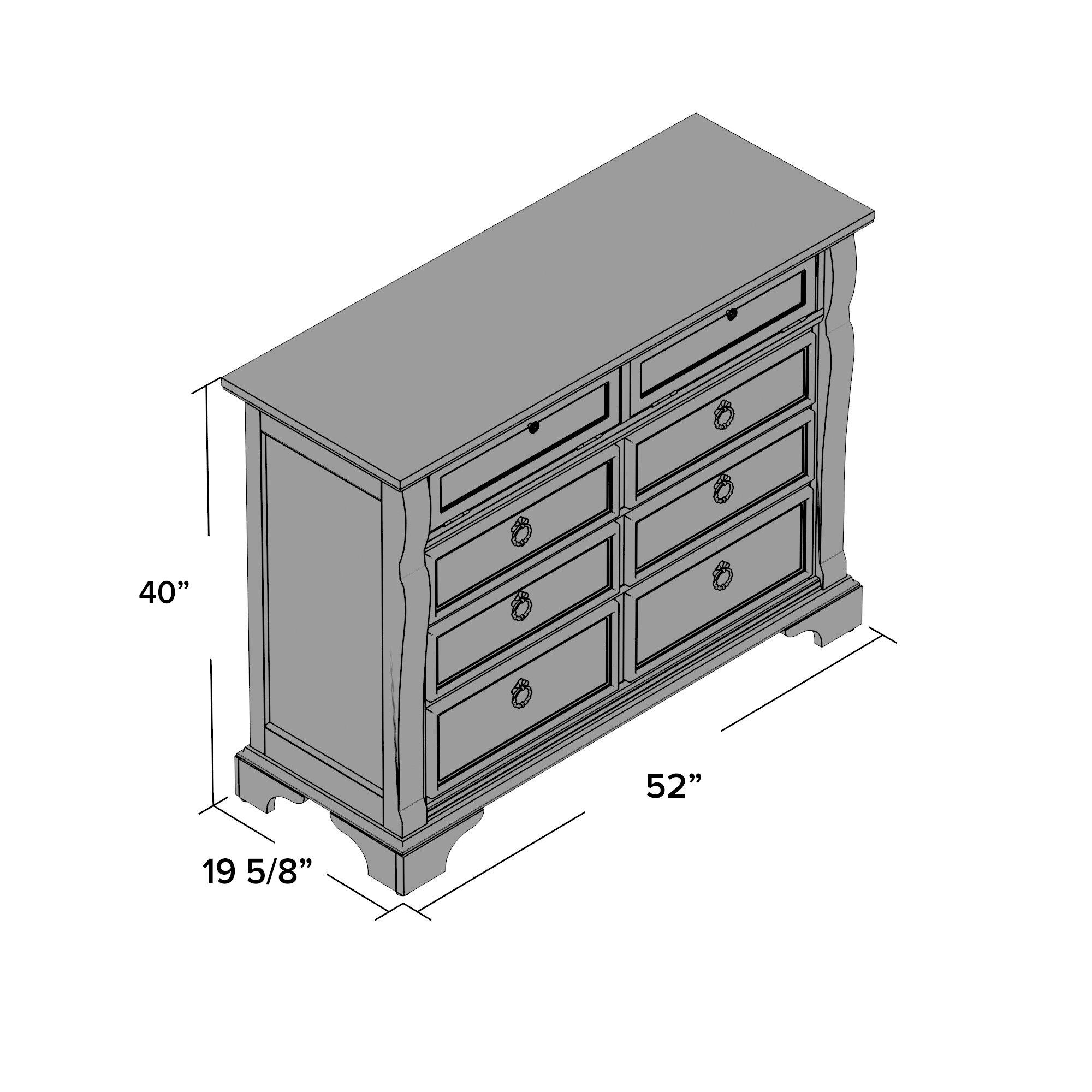 One allium way edinburg 6 drawer media chest reviews for 1 door 6 drawer chest