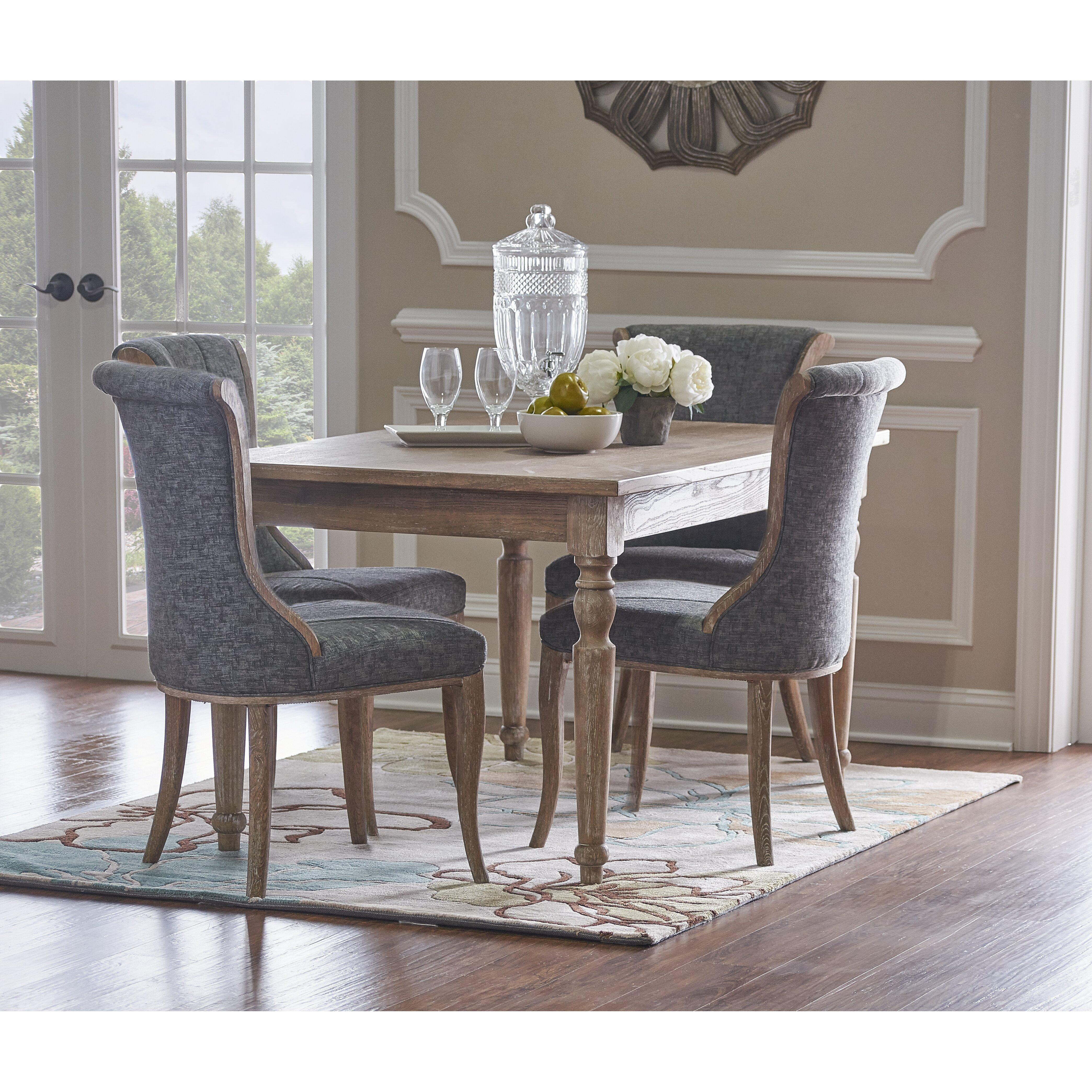 One Allium Way Akron Creek Dining Table Amp Reviews Wayfair