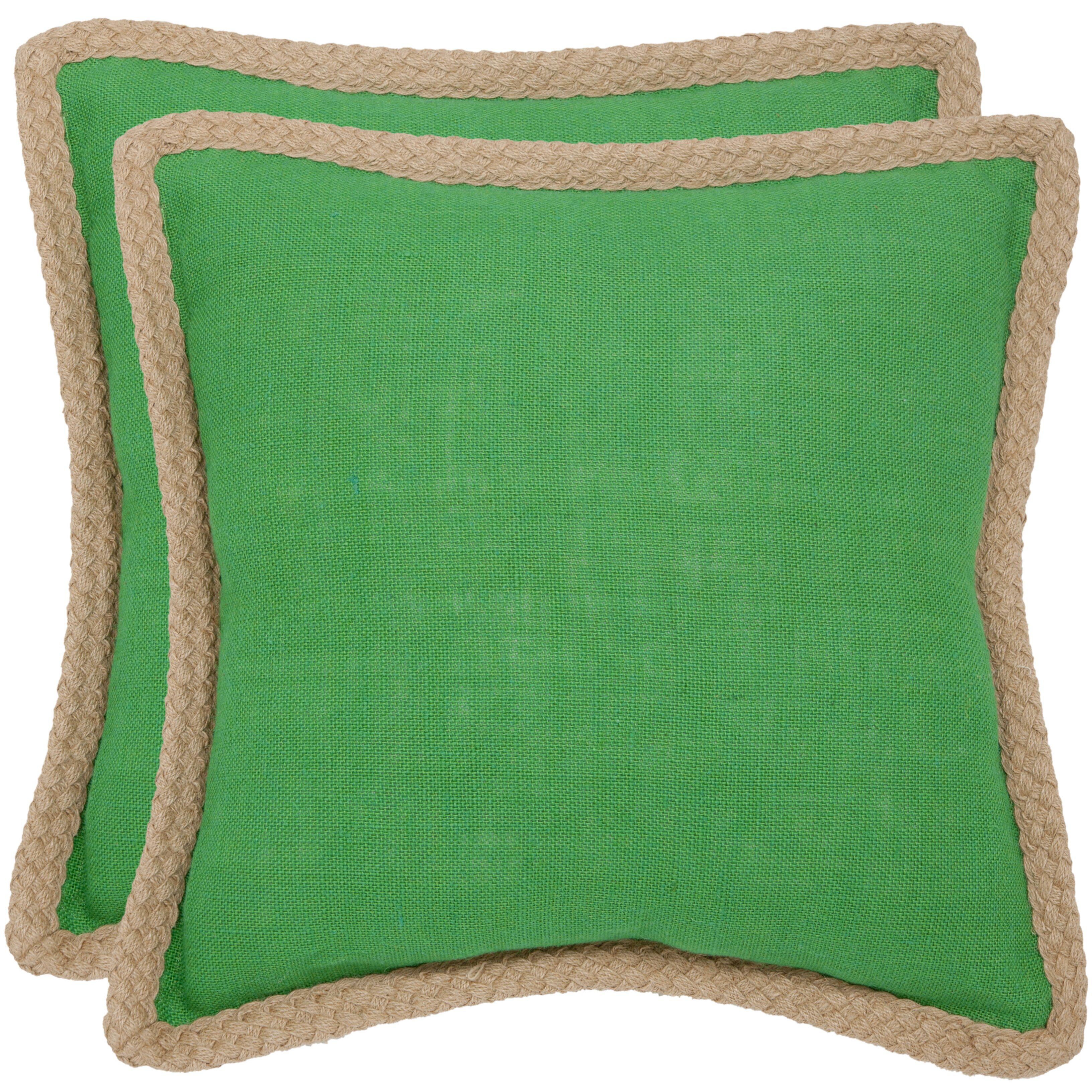 Jute Throw Pillow : Beachcrest Home Yorkton Jute Fiber Cotton Throw Pillow & Reviews Wayfair