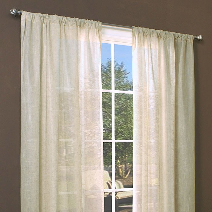 Beachcrest Home Panama City Insulated Rod Pocket Single Curtain Panel Reviews Wayfair
