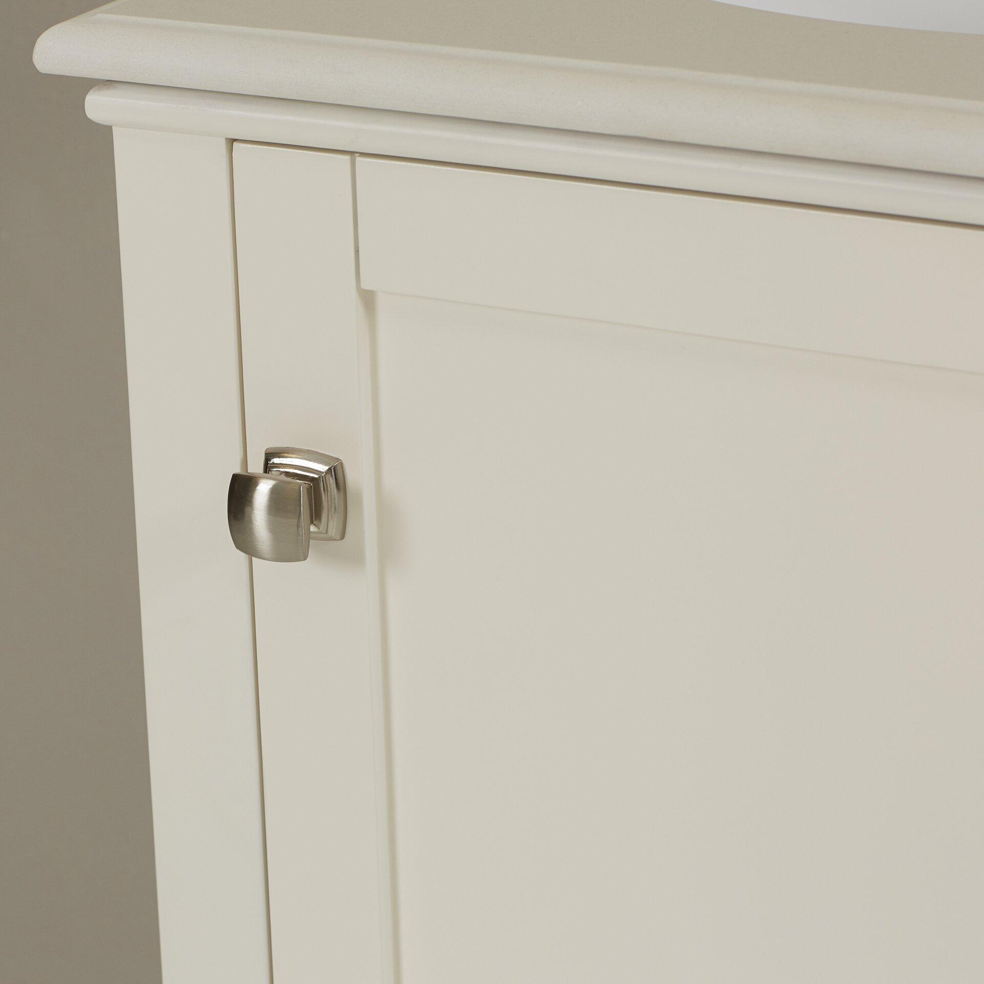 "Beachcrest Home Gotha 3 Light Vanity Light Reviews: Beachcrest Home Hendry 21"" Single Bathroom Vanity Set & Reviews"