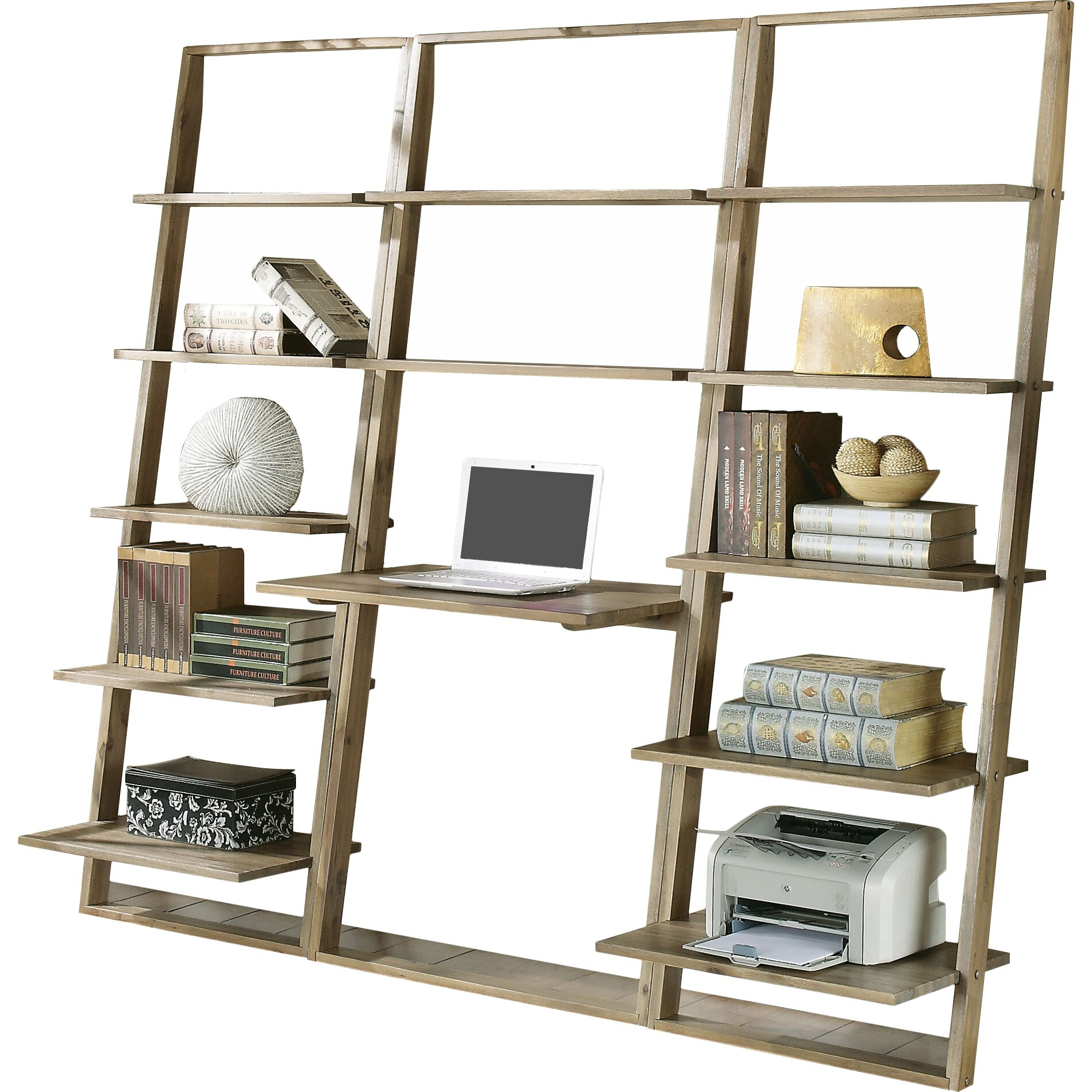 how to build a leaning bookshelf