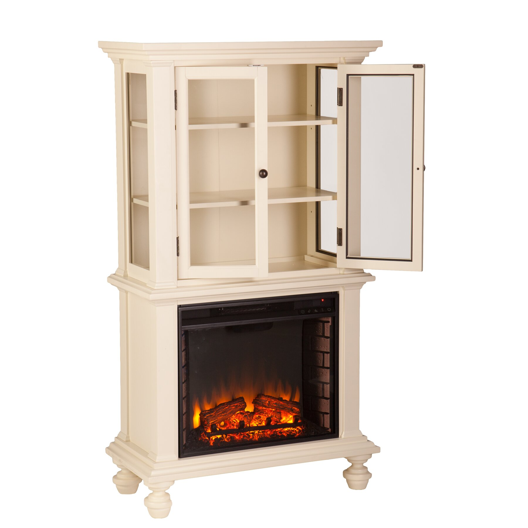 Beachcrest Home London Curio Electric Fireplace Reviews