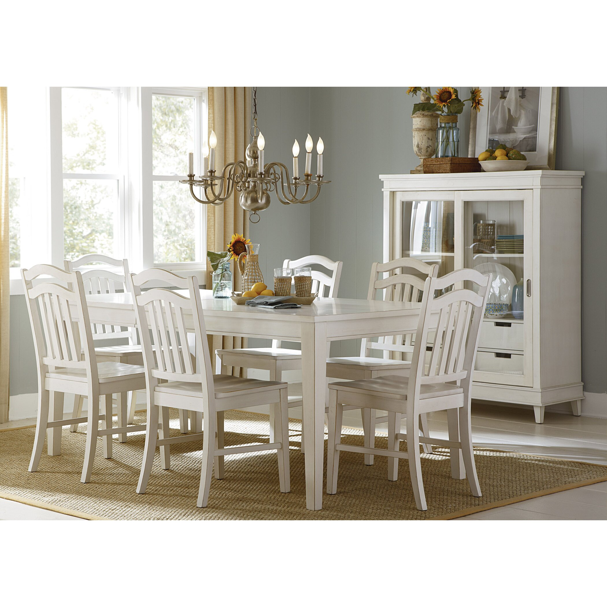 Hayley Dining Room Set: Beachcrest Home Silver Springs Dining Table & Reviews