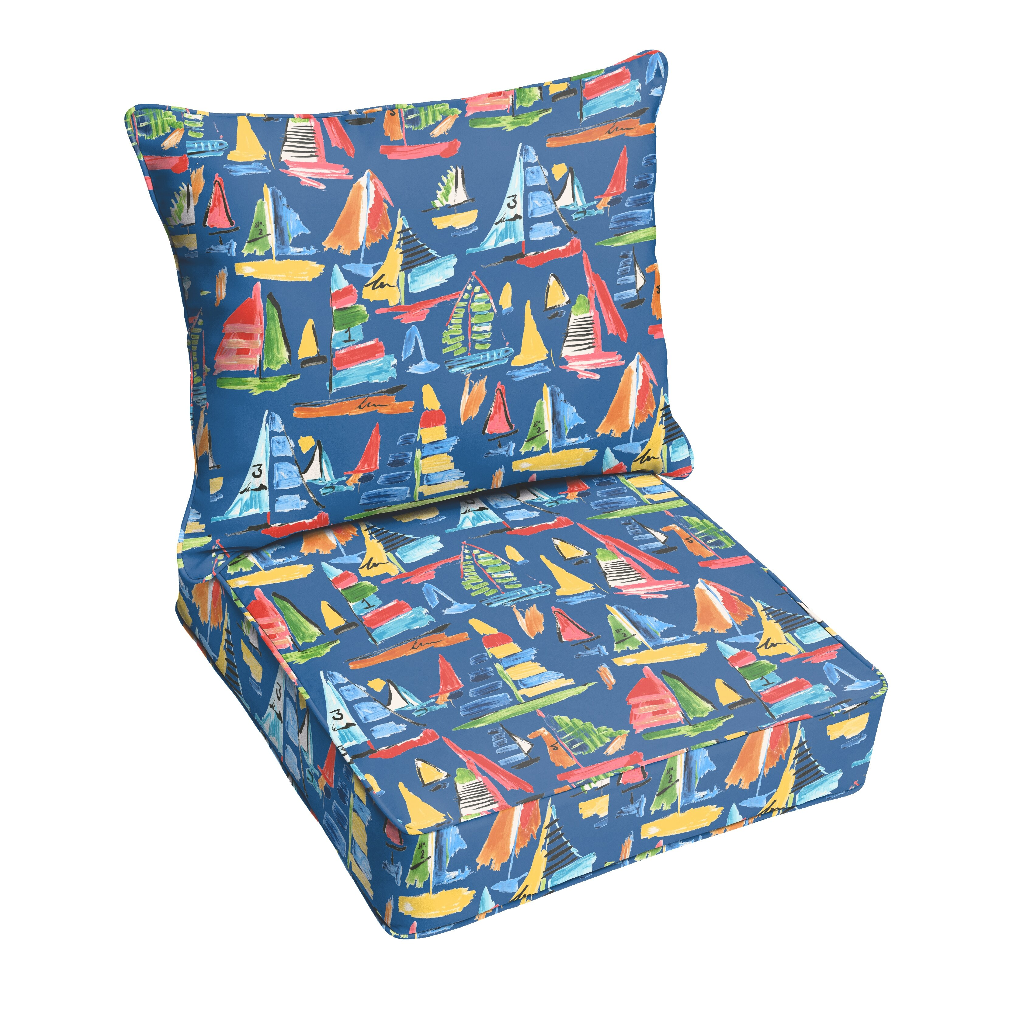 Beachcrest Home Ponce Outdoor Lounge Chair Cushion