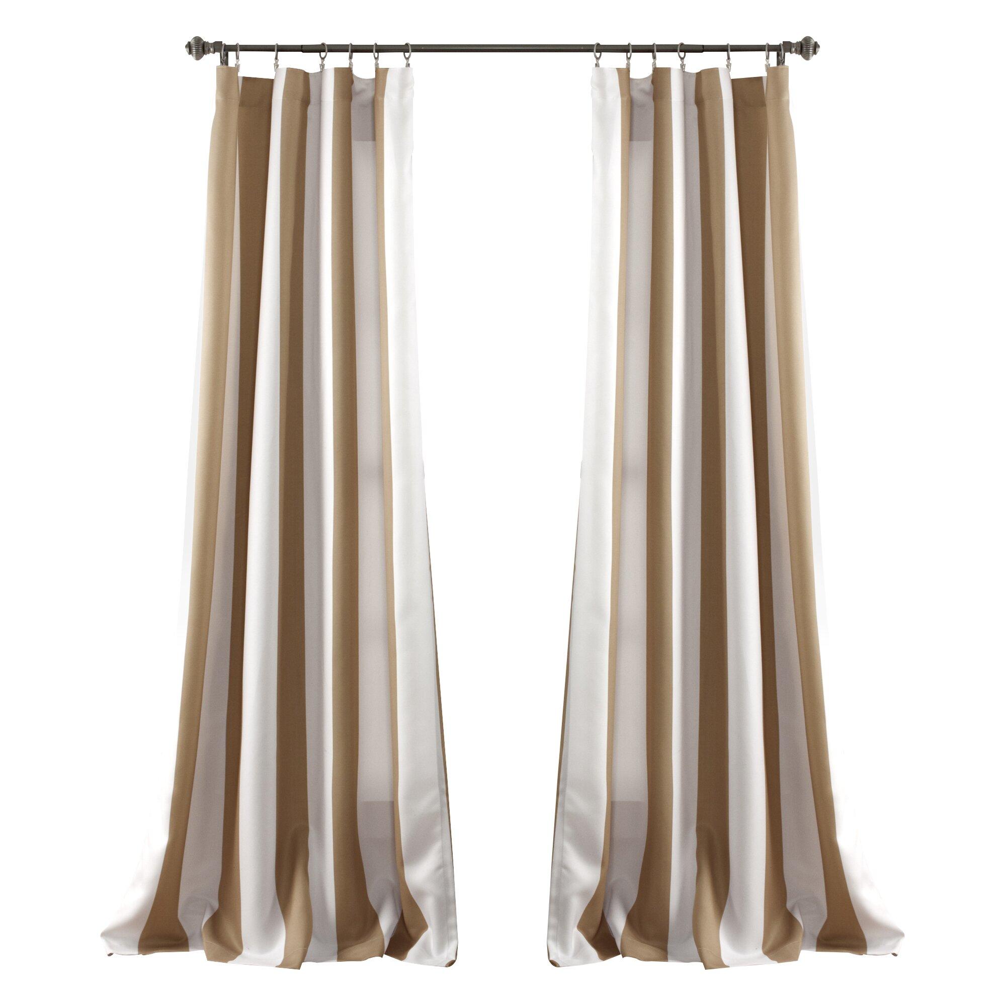 beachcrest home room darkening curtain panel reviews wayfair