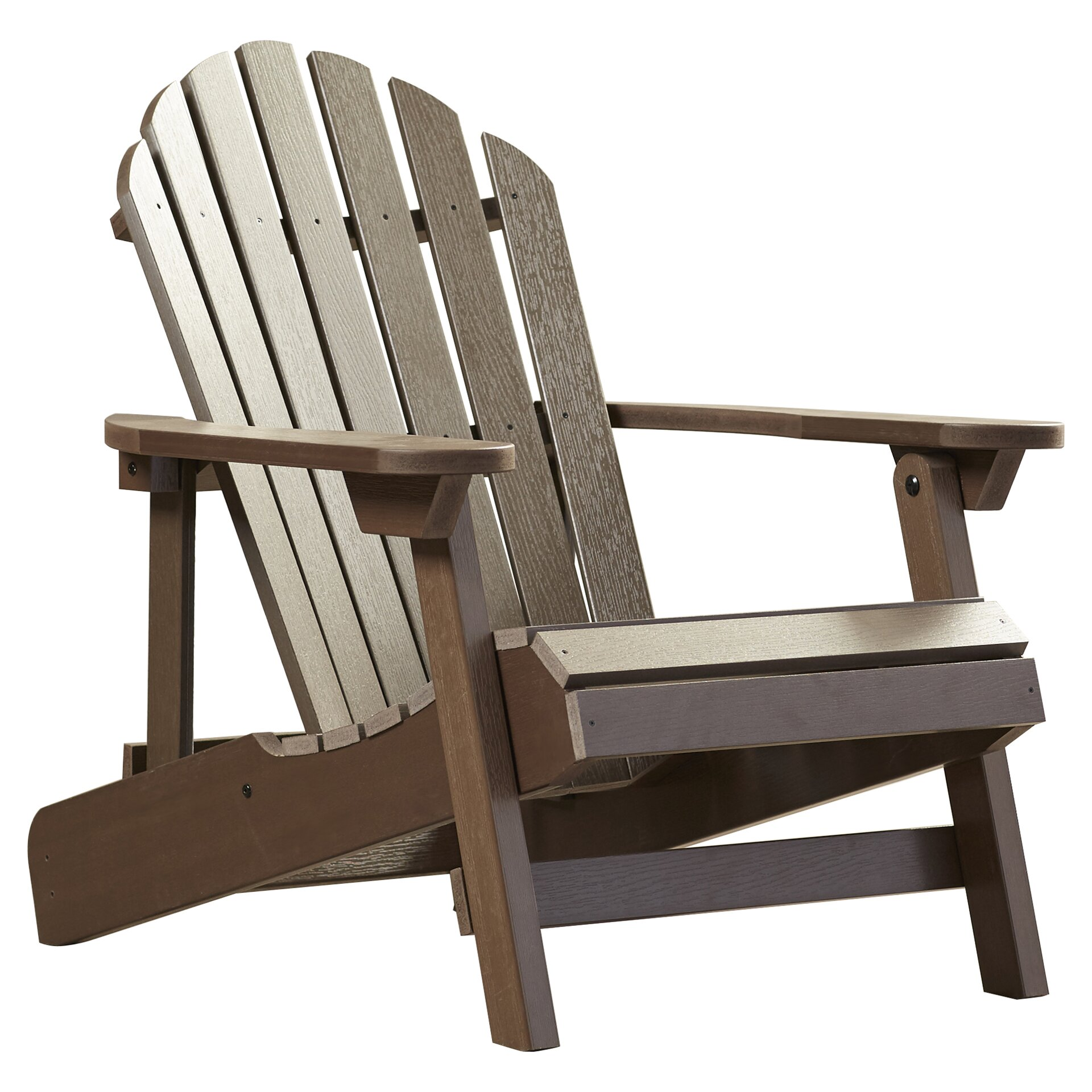 Beachcrest Home Albion Folding Reclining Adirondack Chair Reviews Wayfair