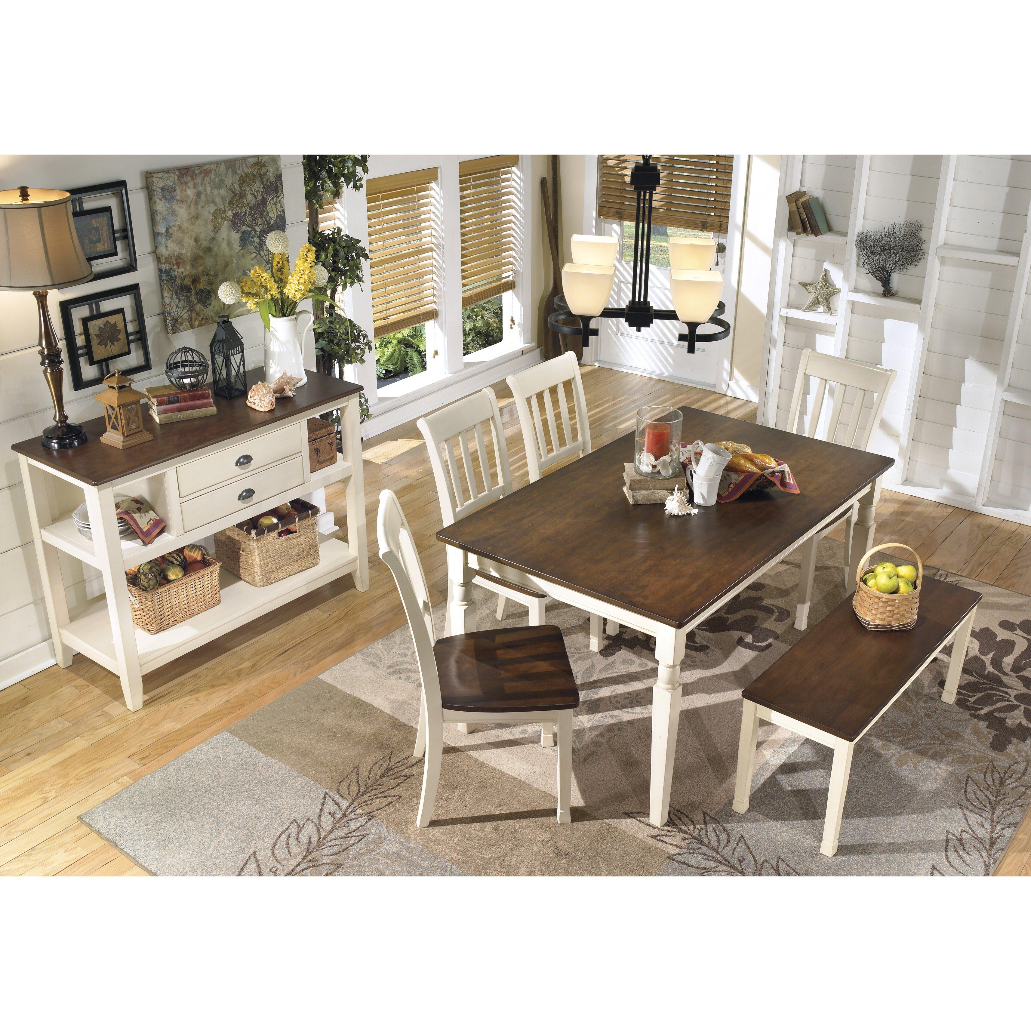 Beachcrest Home Magellan Wood Kitchen Bench & Reviews