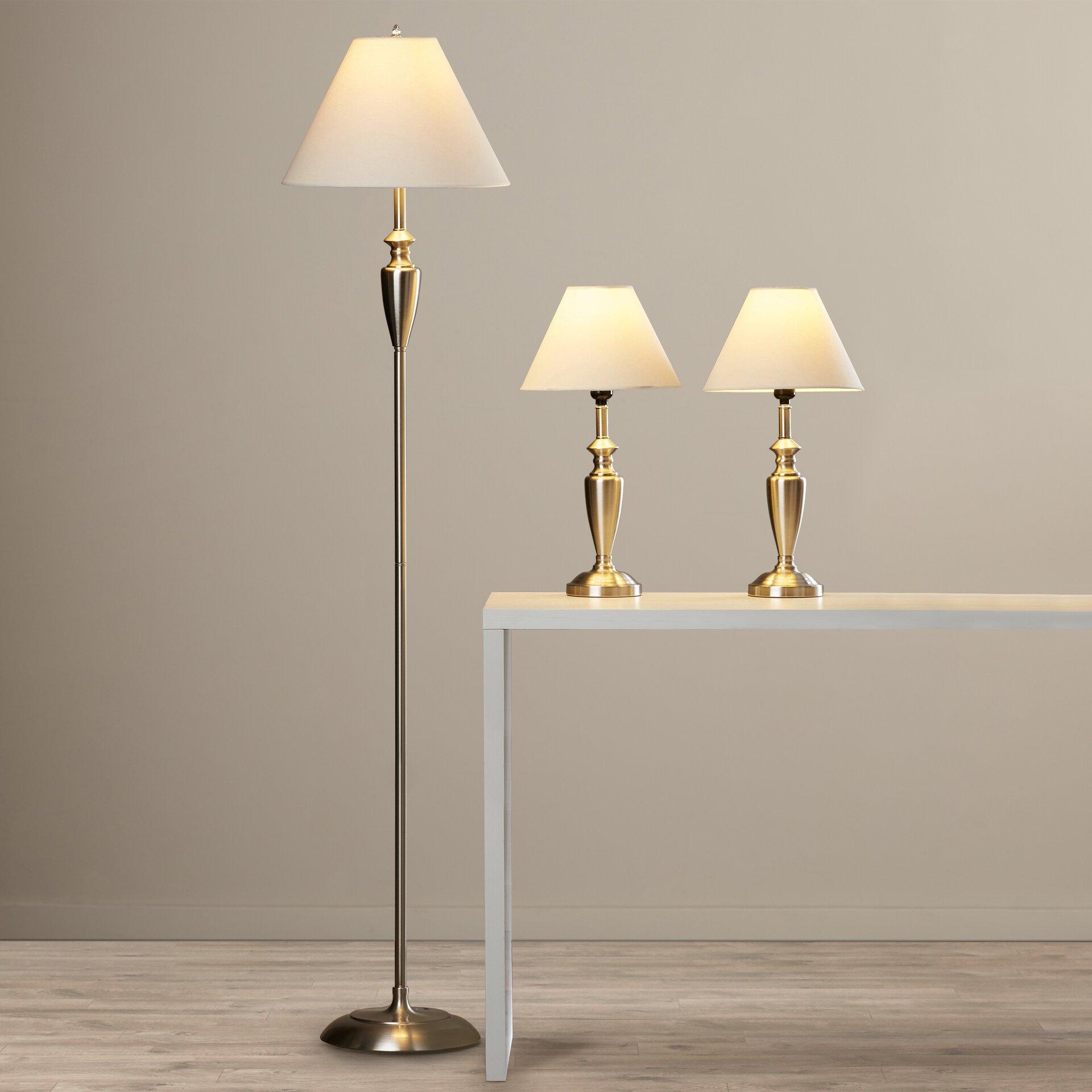 beachcrest home castine 3 piece 63 5 39 39 table lamp set. Black Bedroom Furniture Sets. Home Design Ideas