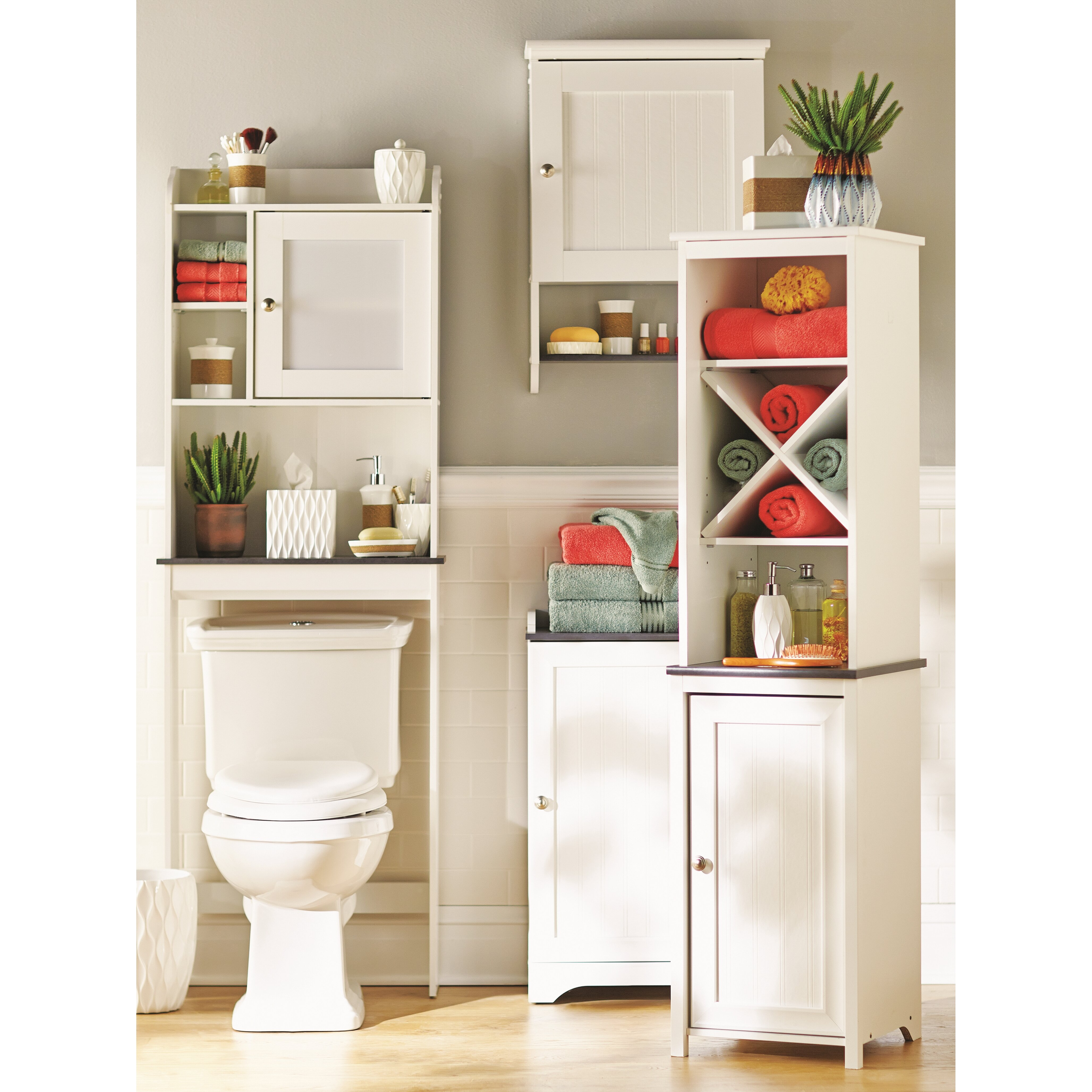 Beachcrest home gulf free standing cabinet reviews wayfair for Free standing cupboards for bathrooms