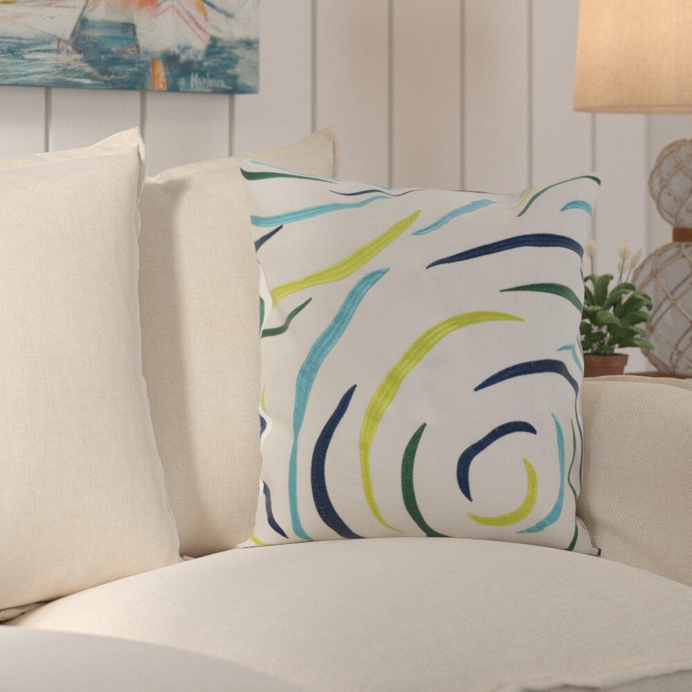 Beachcrest Home Lollypop Indoor Outdoor Euro Pillow