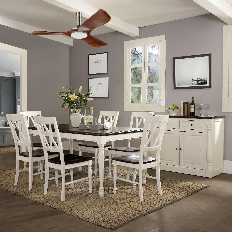 Archibald 7 Piece White Dining Set: Beachcrest Home Tanner 7 Piece Dining Set & Reviews