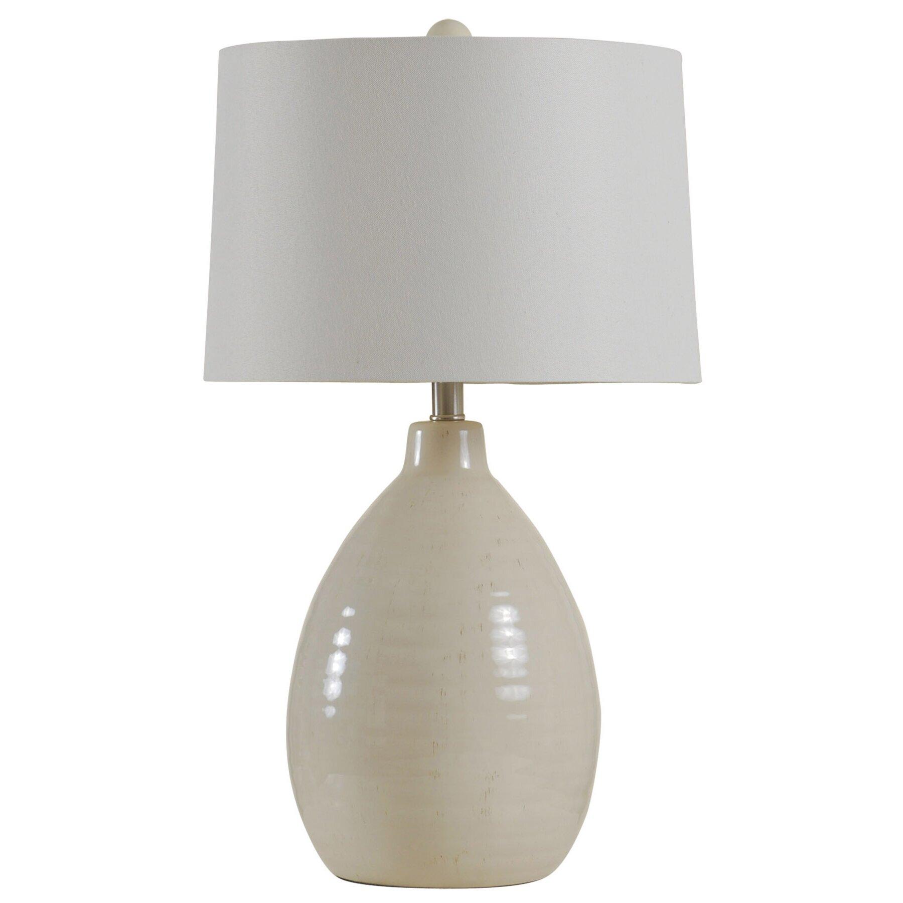 Beachcrest Home Gouldin Gourd 26 5 Table Lamp Wayfair