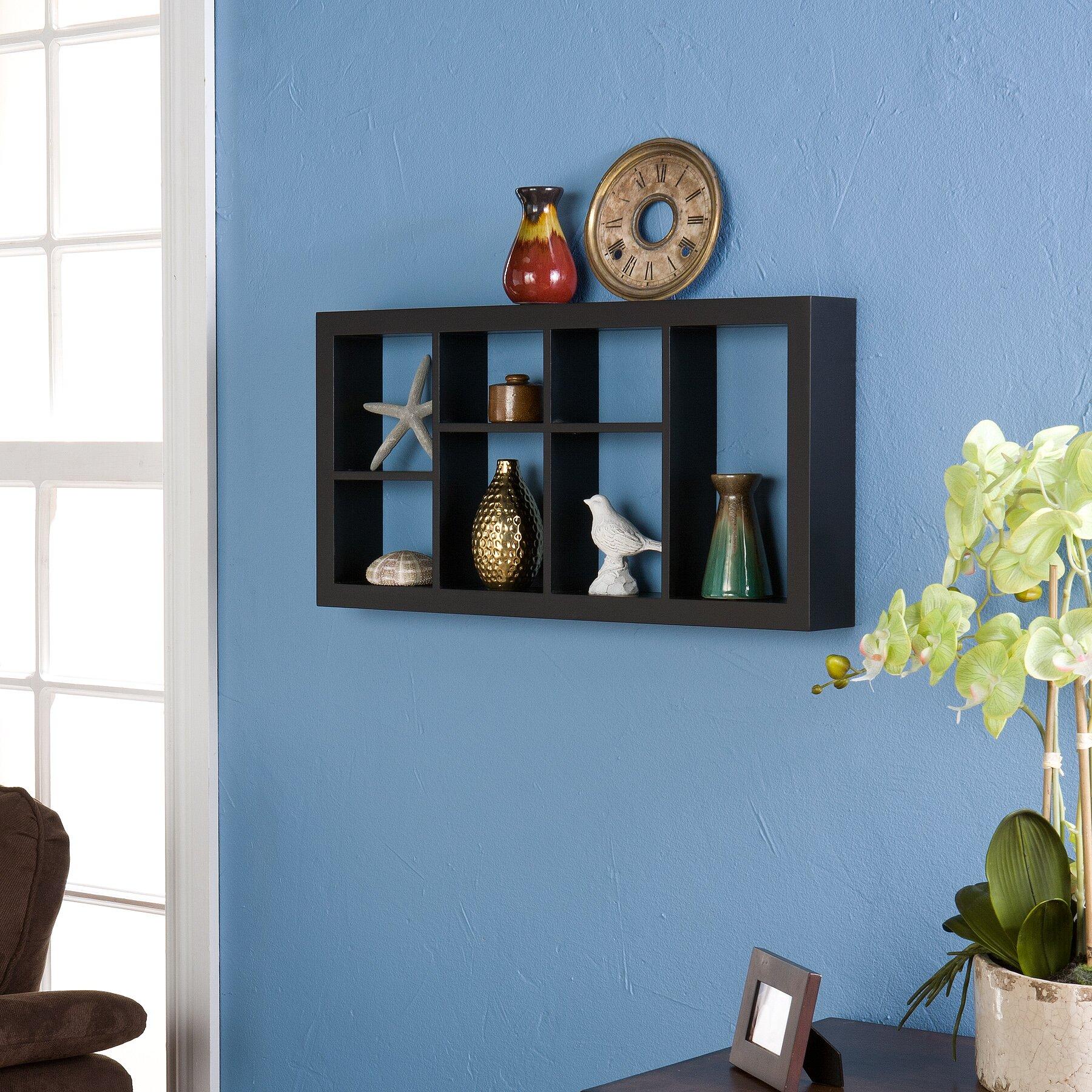 Beachcrest Home Lynn Harbor 24 Display Shelf Reviews