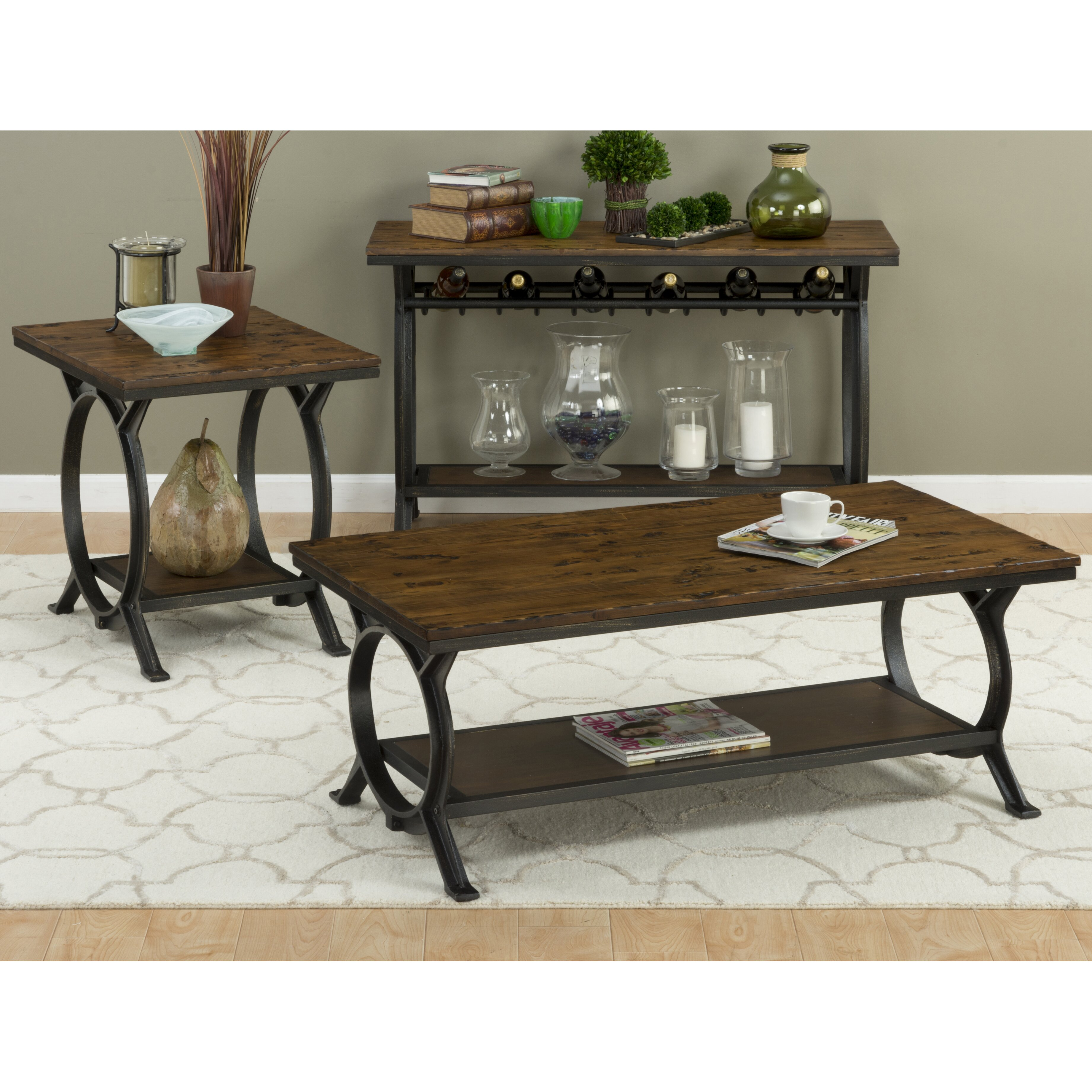Loon Peak Red Cliff Coffee Table Reviews
