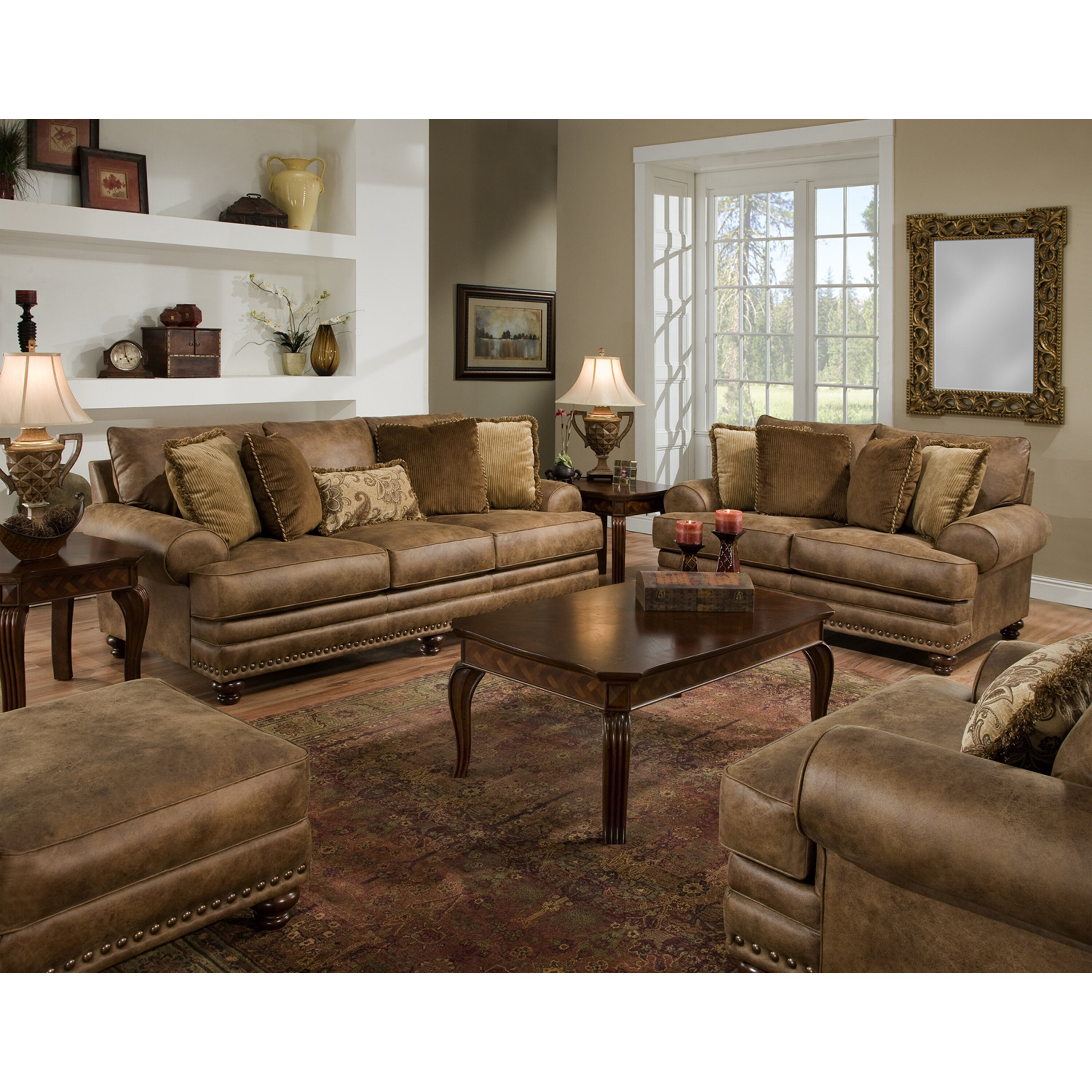 loon peak claremore living room collection amp reviews wayfair