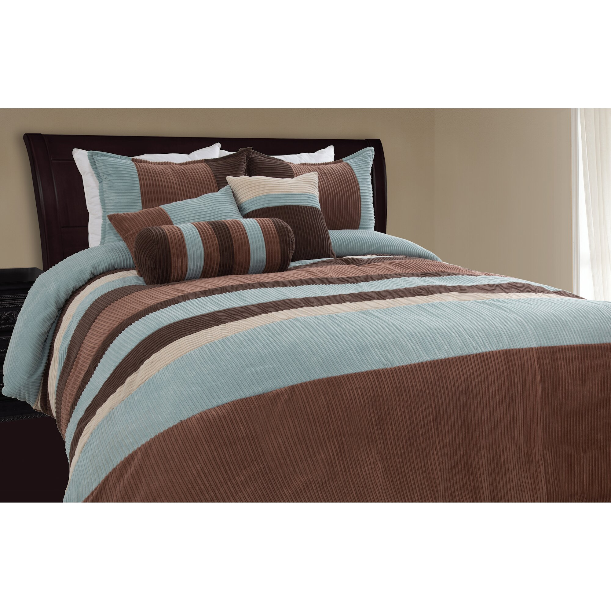 Loon Peak Mustang Piece Comforter Set Amp Reviews Wayfair