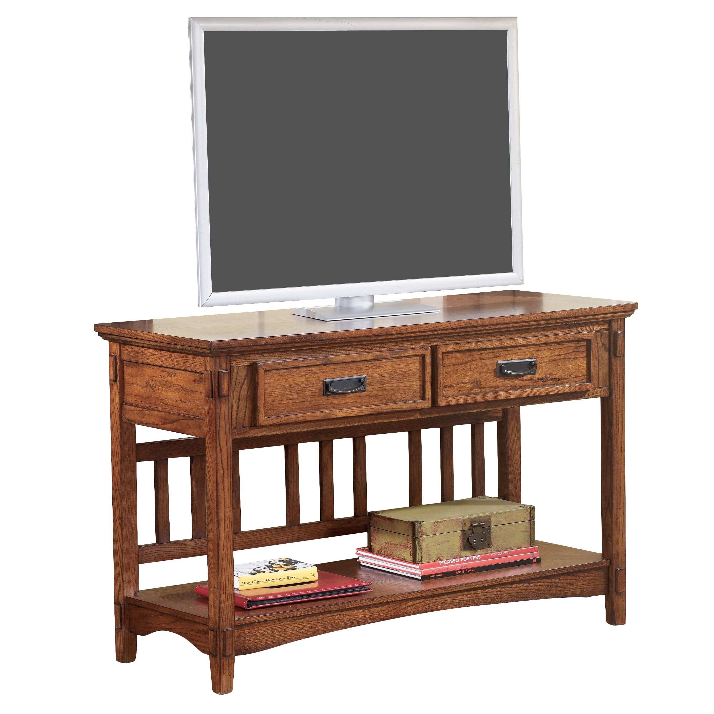 Loon peak barrett tv stand reviews wayfair Peak office furniture