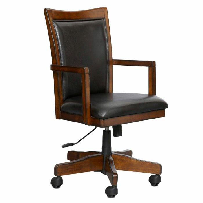 Loon peak kobuk desk chair reviews wayfair Peak office furniture