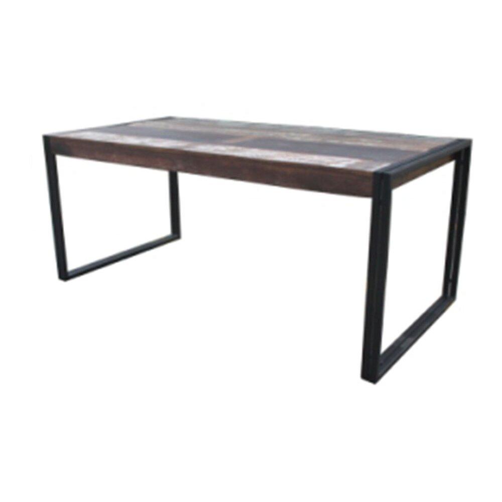 Loon peak whitetop dining table reviews wayfair for Wayfair dining tables