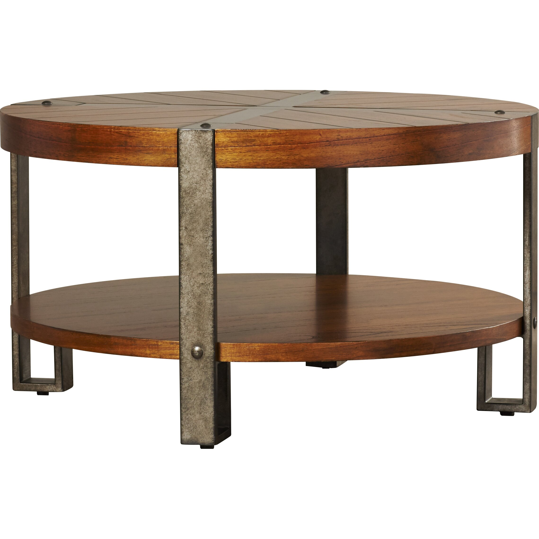 Loon Peak Gallatin Round Coffee Table & Reviews | Wayfair