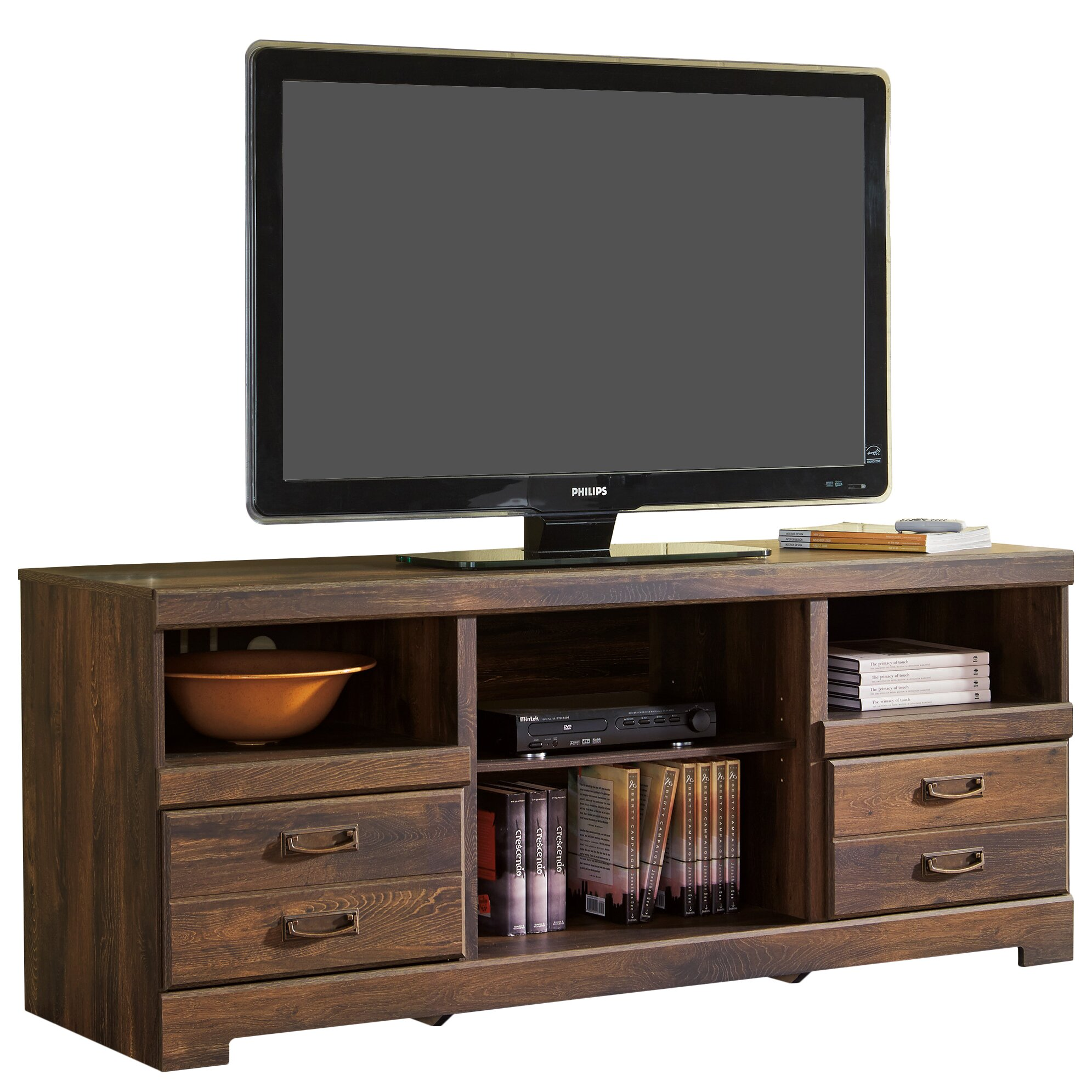 Loon Peak Flattop Tv Stand Amp Reviews Wayfair