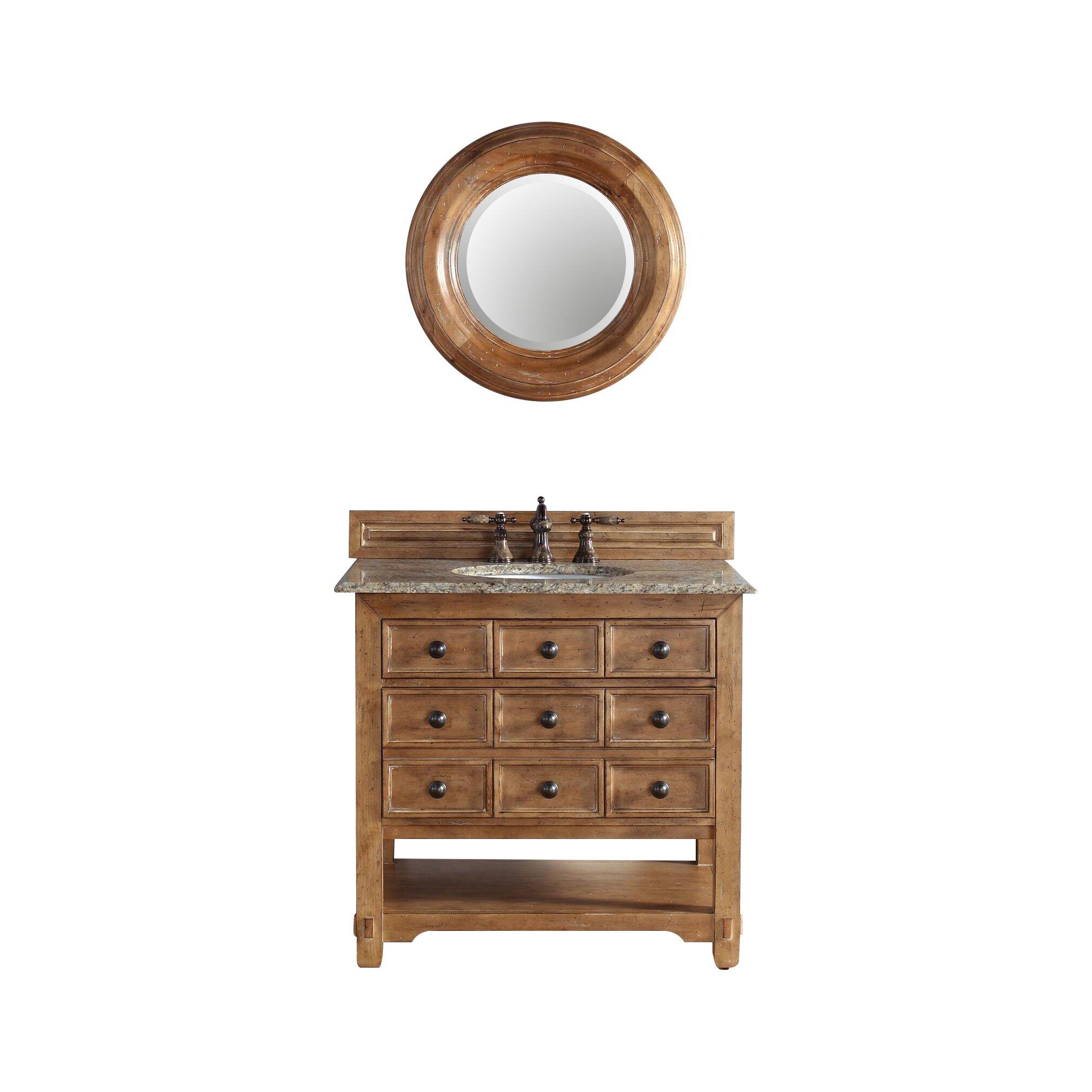 "James Martin Furniture Malibu 36"" Single Honey Alder ..."