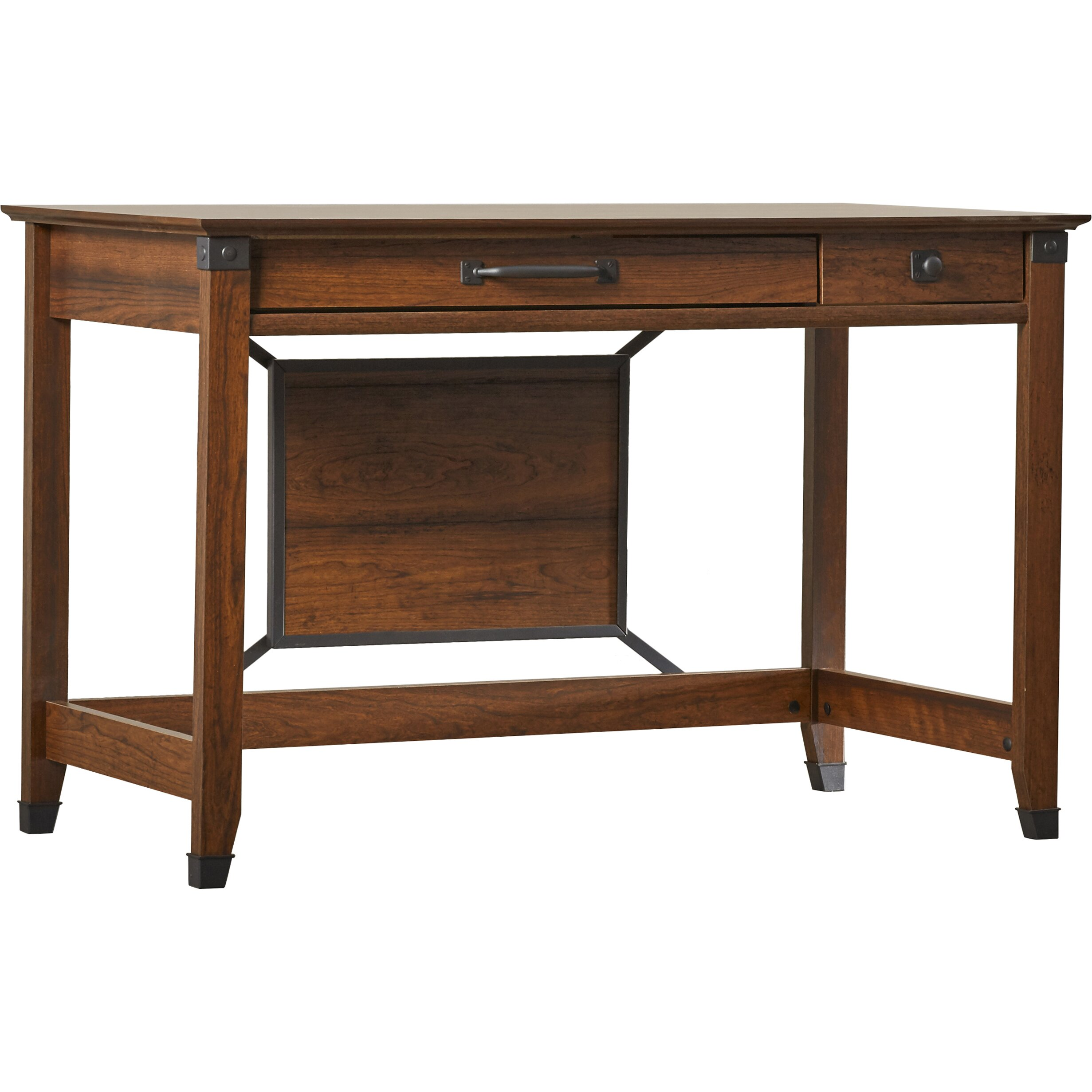 Loon peak newdale 2 drawer writing desk reviews wayfair Peak office furniture