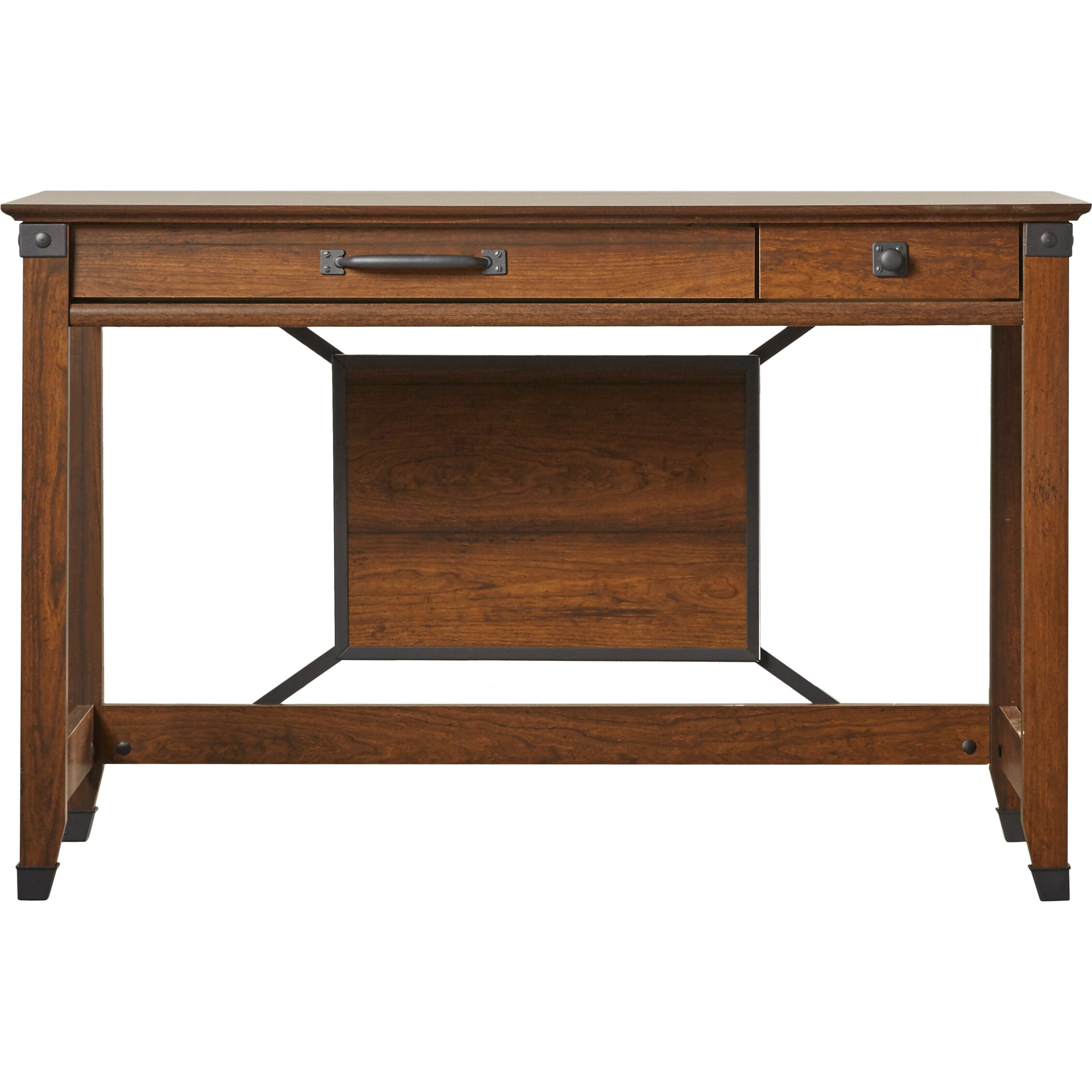 Loon peak newdale 2 drawer writing desk reviews Peak office furniture