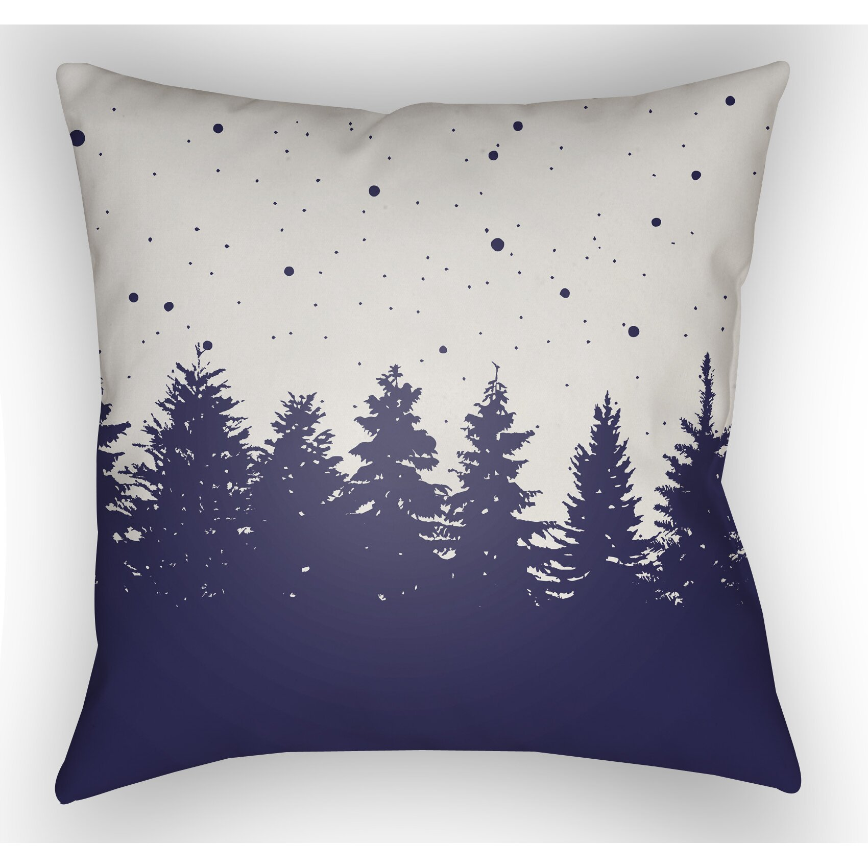 Throw Pillows In Abuja : Loon Peak Frissell Trees Indoor/Outdoor Throw Pillow & Reviews Wayfair