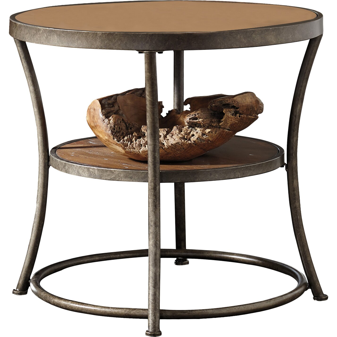 Loon peak bendeleben end table reviews wayfair for Table 19 review
