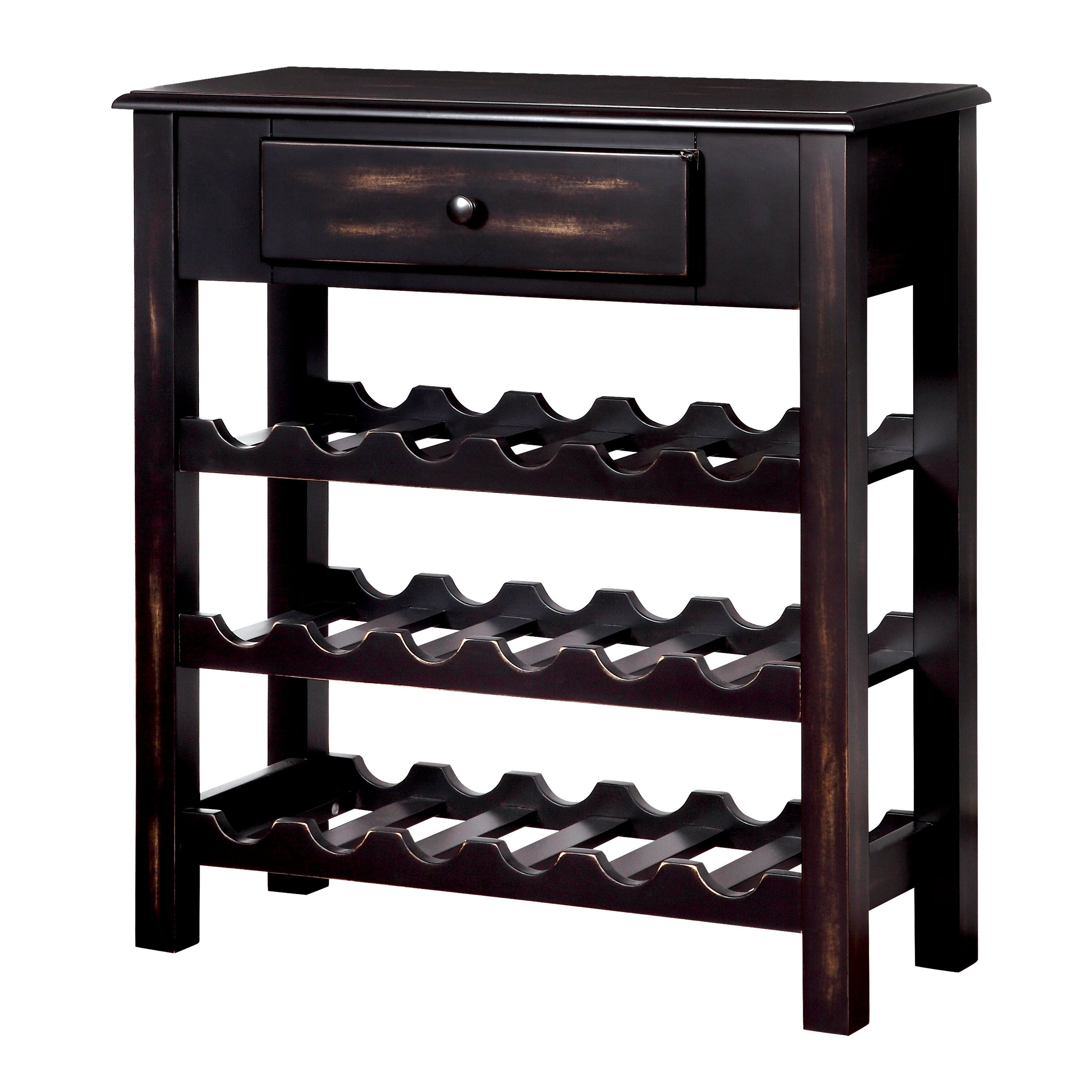 Loon peak cotopaxi 18 bottle floor wine rack reviews for Floor wine rack