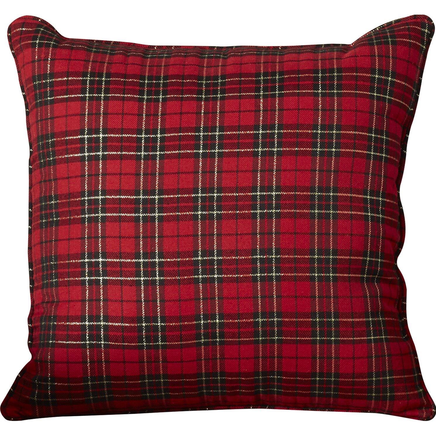 Loon Peak Greeley Holiday Plaid Throw Pillow & Reviews Wayfair