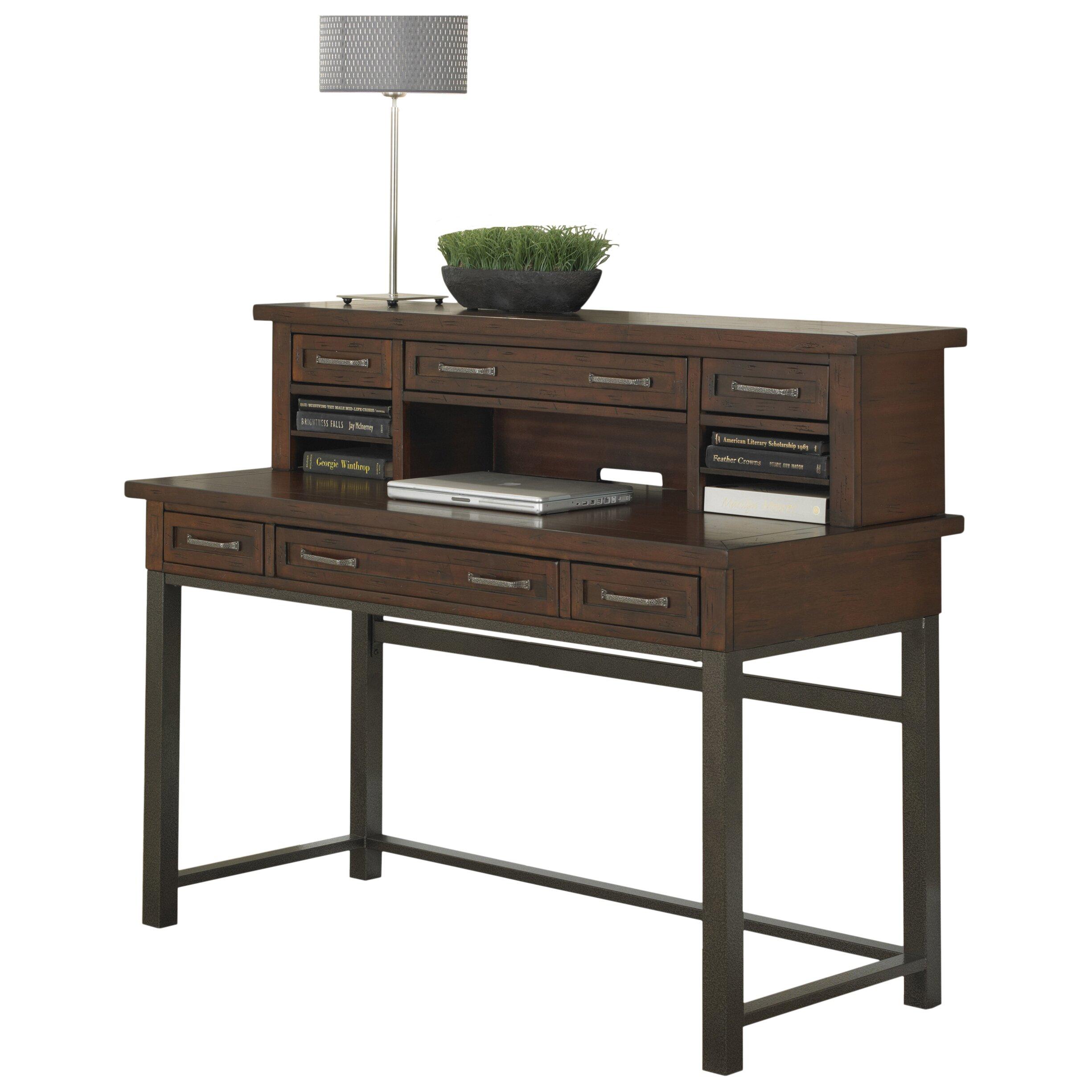 Loon Peak Rockvale Computer Desk With 1 Right Amp 1 Left