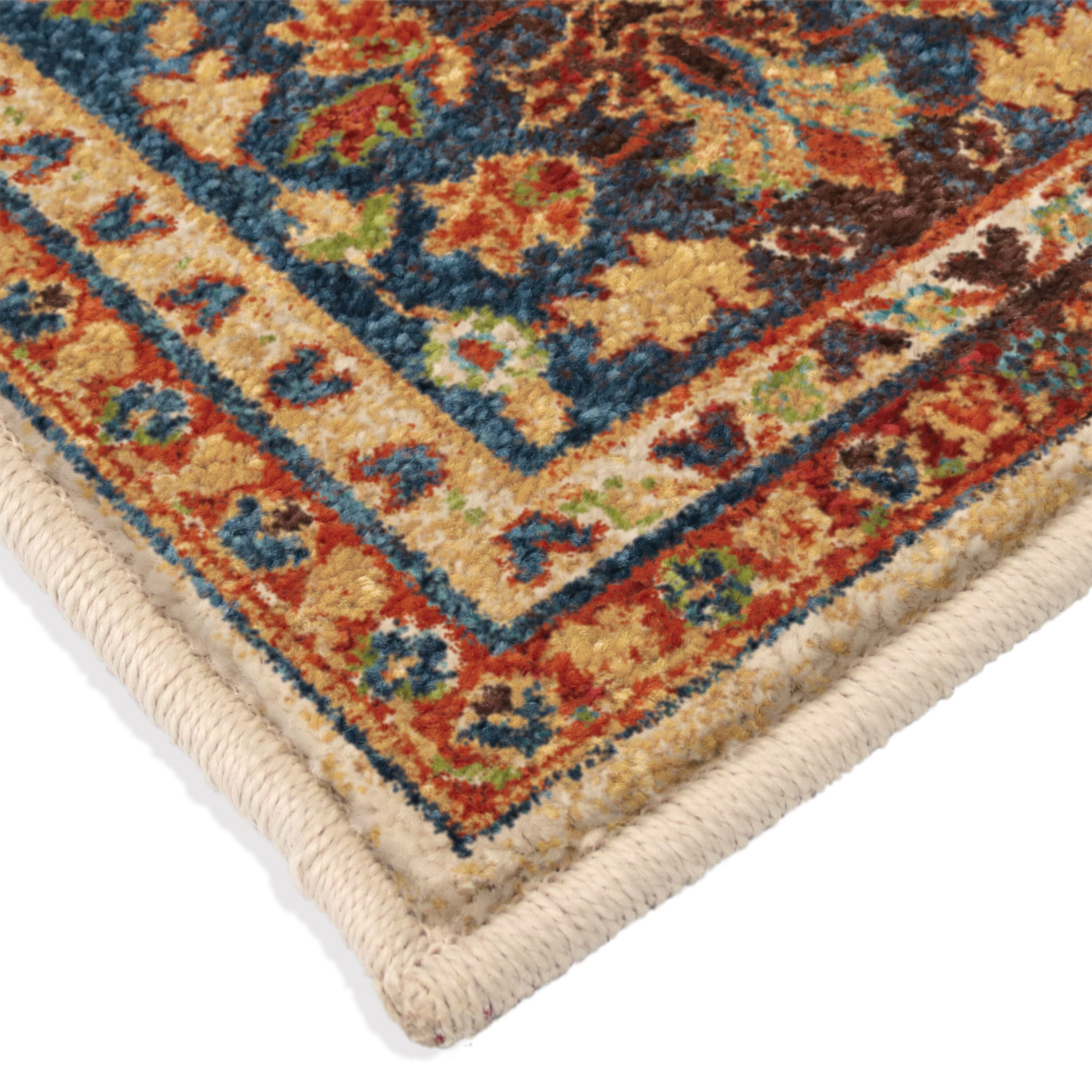 loon peak canyonwood orange beige blue area rug reviews wayfair. Black Bedroom Furniture Sets. Home Design Ideas