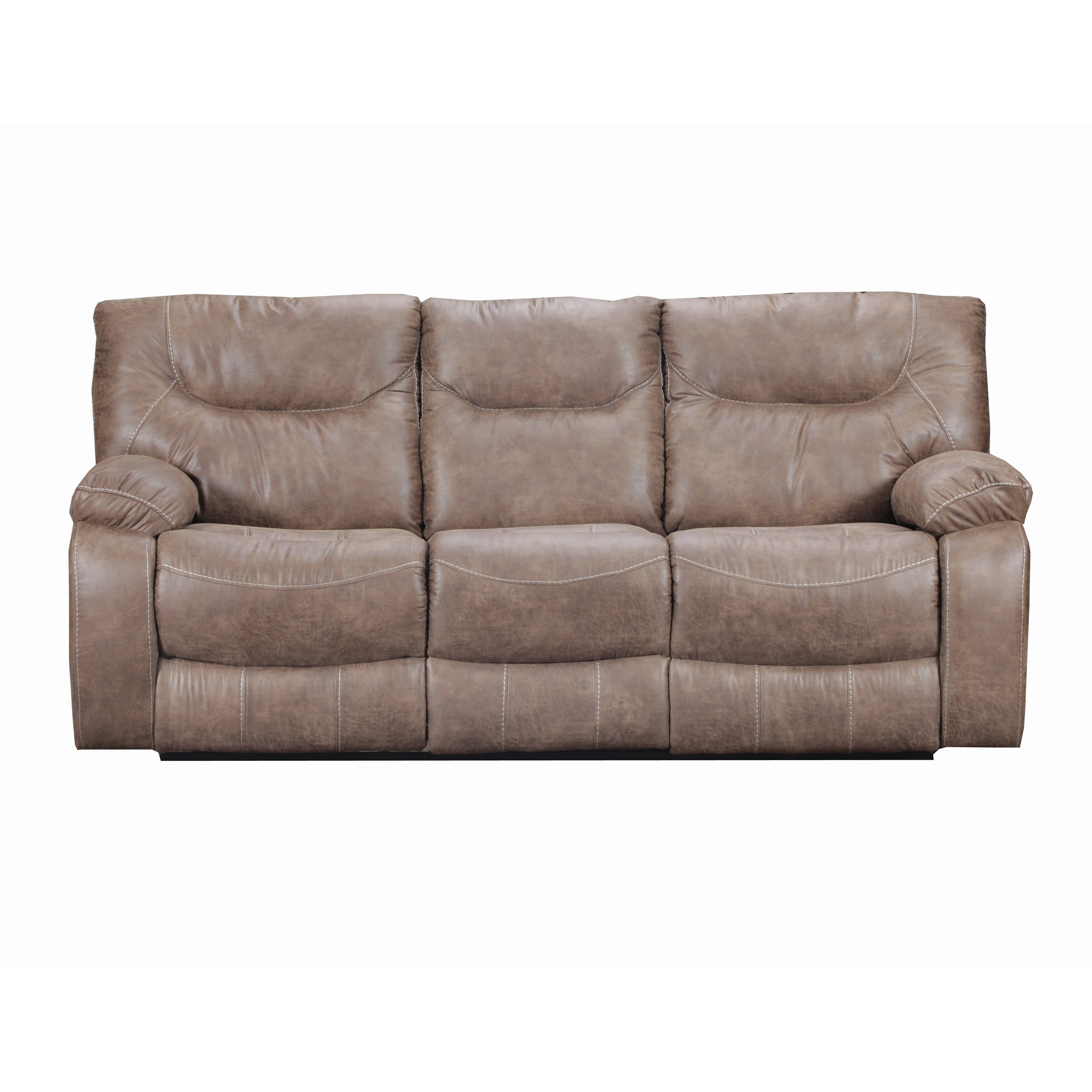 Loon Peak Simmons Upholstery El Capitan Double Motion Reclining Sofa Reviews Wayfair