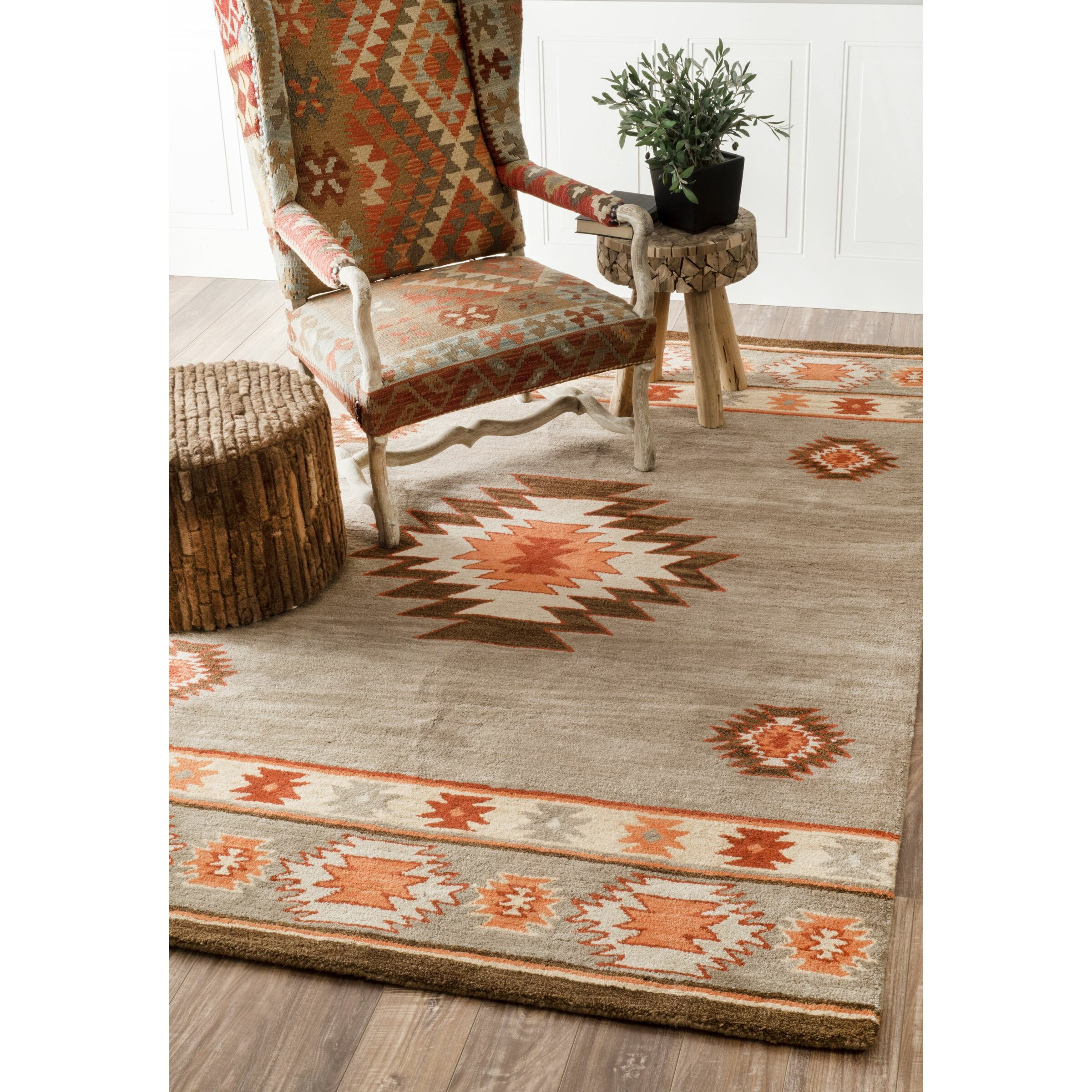 Dog Eating Wool Rug: Loon Peak Claghorn Rug & Reviews