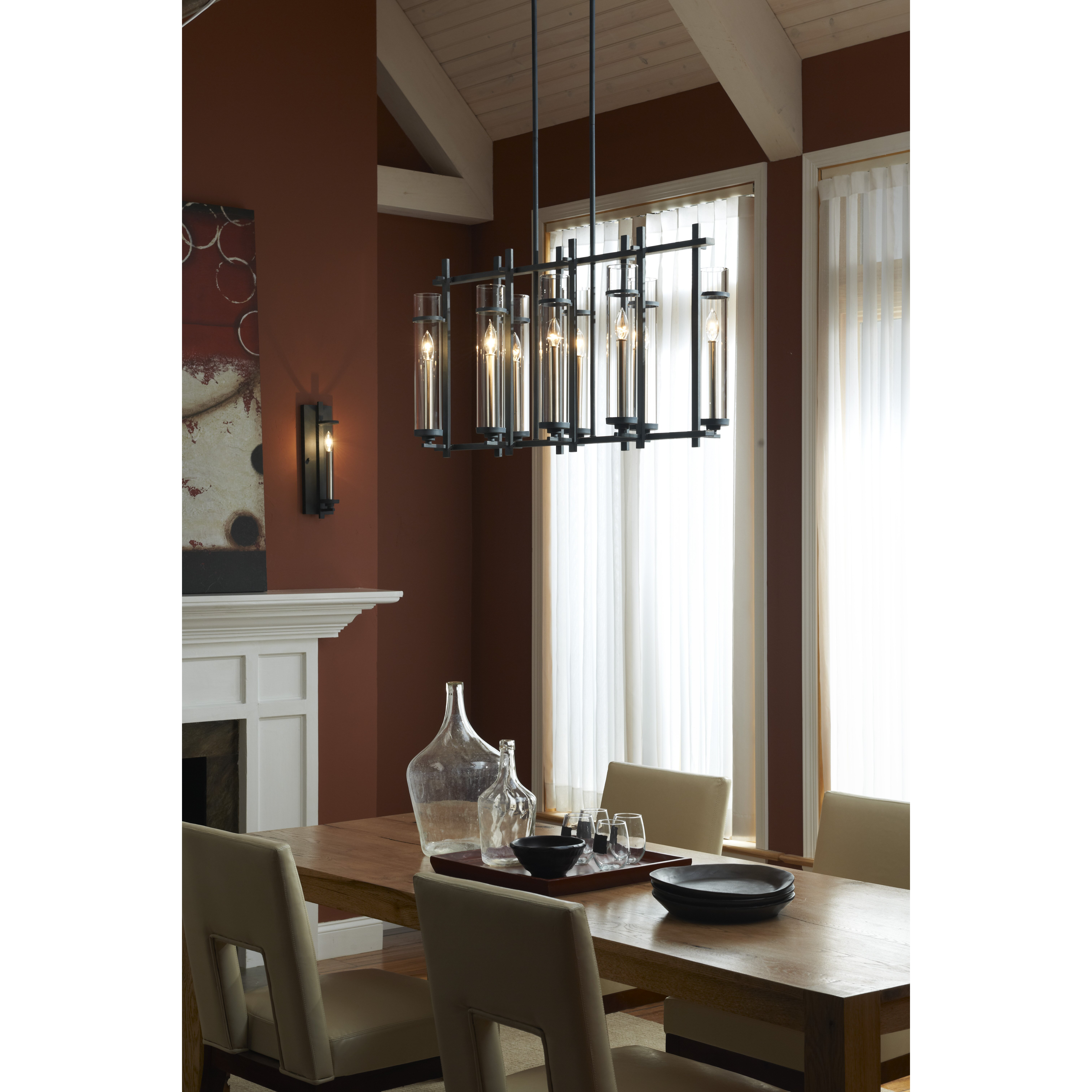Country Kitchen Yucca Valley: Trent Austin Design Yucca Valley 1 Light Candle Sconce