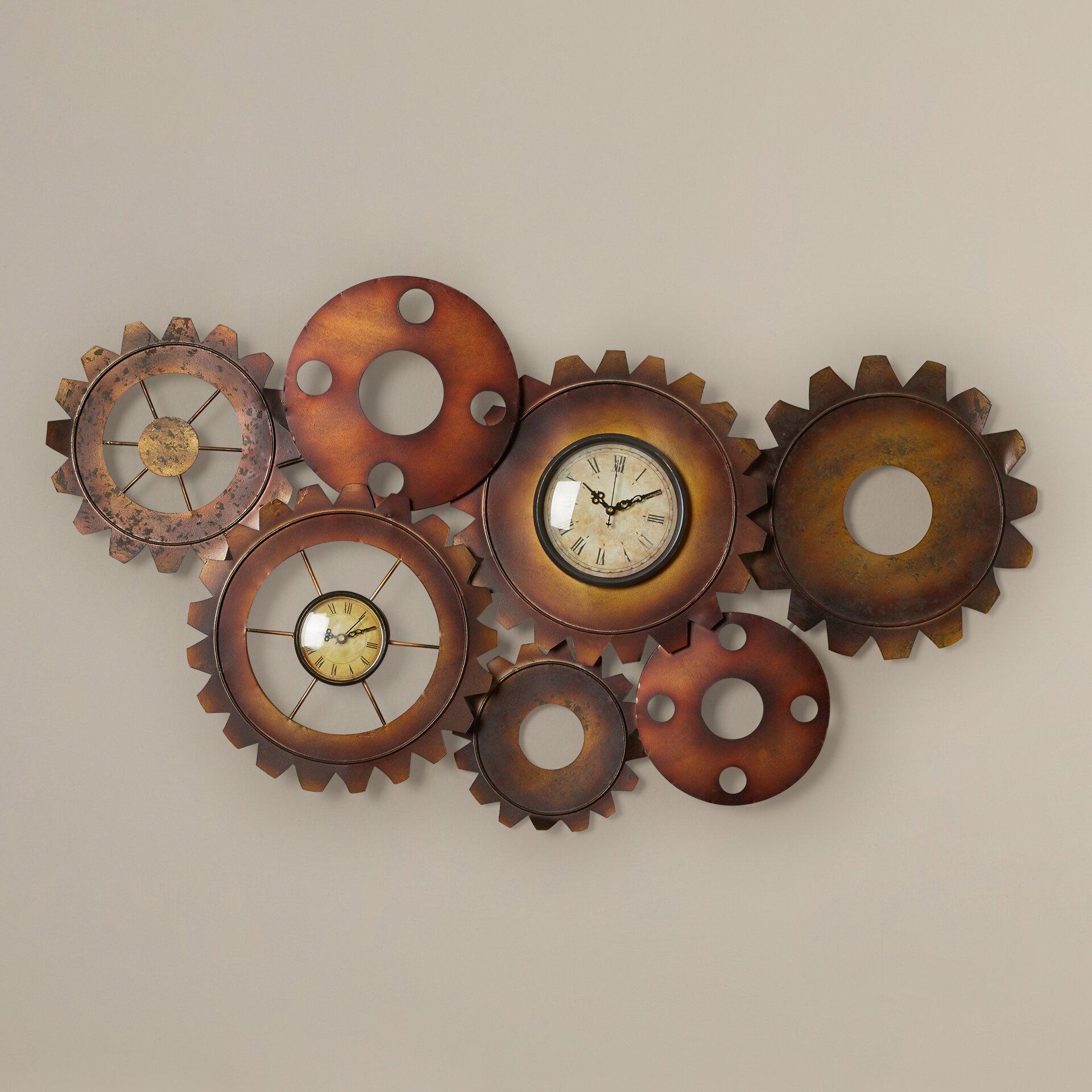 Trent Austin Design Los Banos Metal Gear Clock Amp Reviews