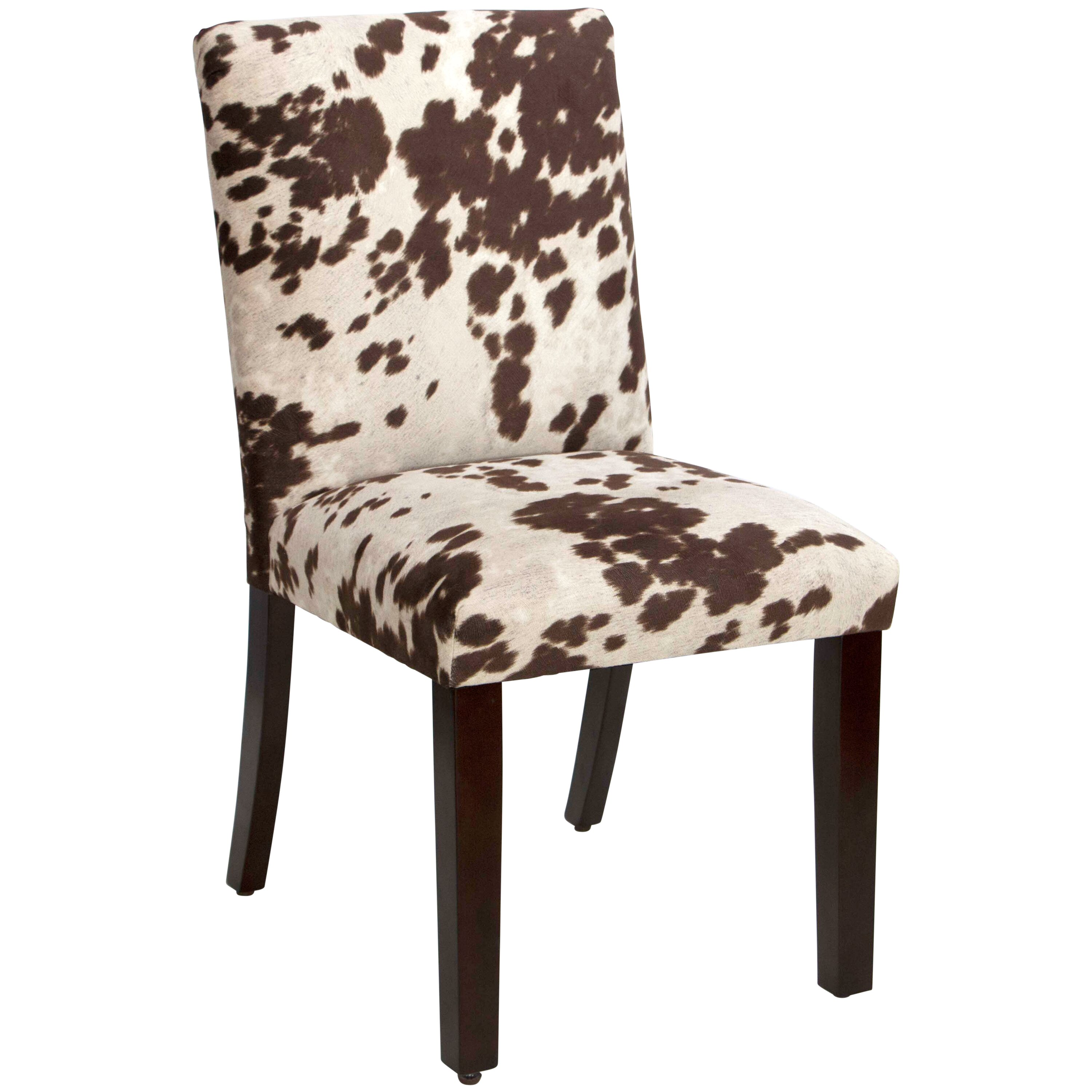 Upholstered Dining Chair Parsons Armless Brown Design: Trent Austin Design Bodgers Parsons Upholstered Chair