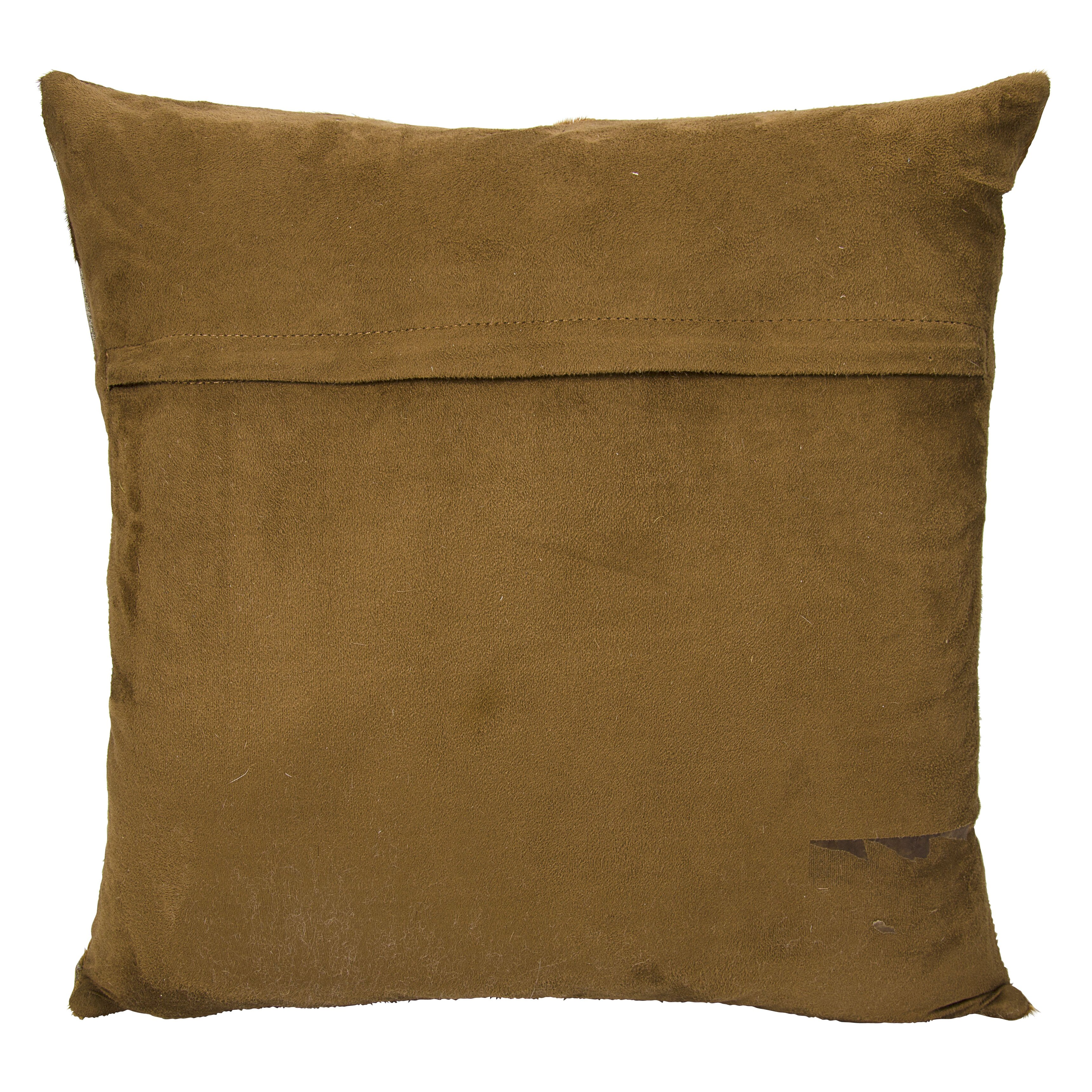 Throw Pillow Leather : Trent Austin Design Agate Infinity Square Leather Throw Pillow Wayfair
