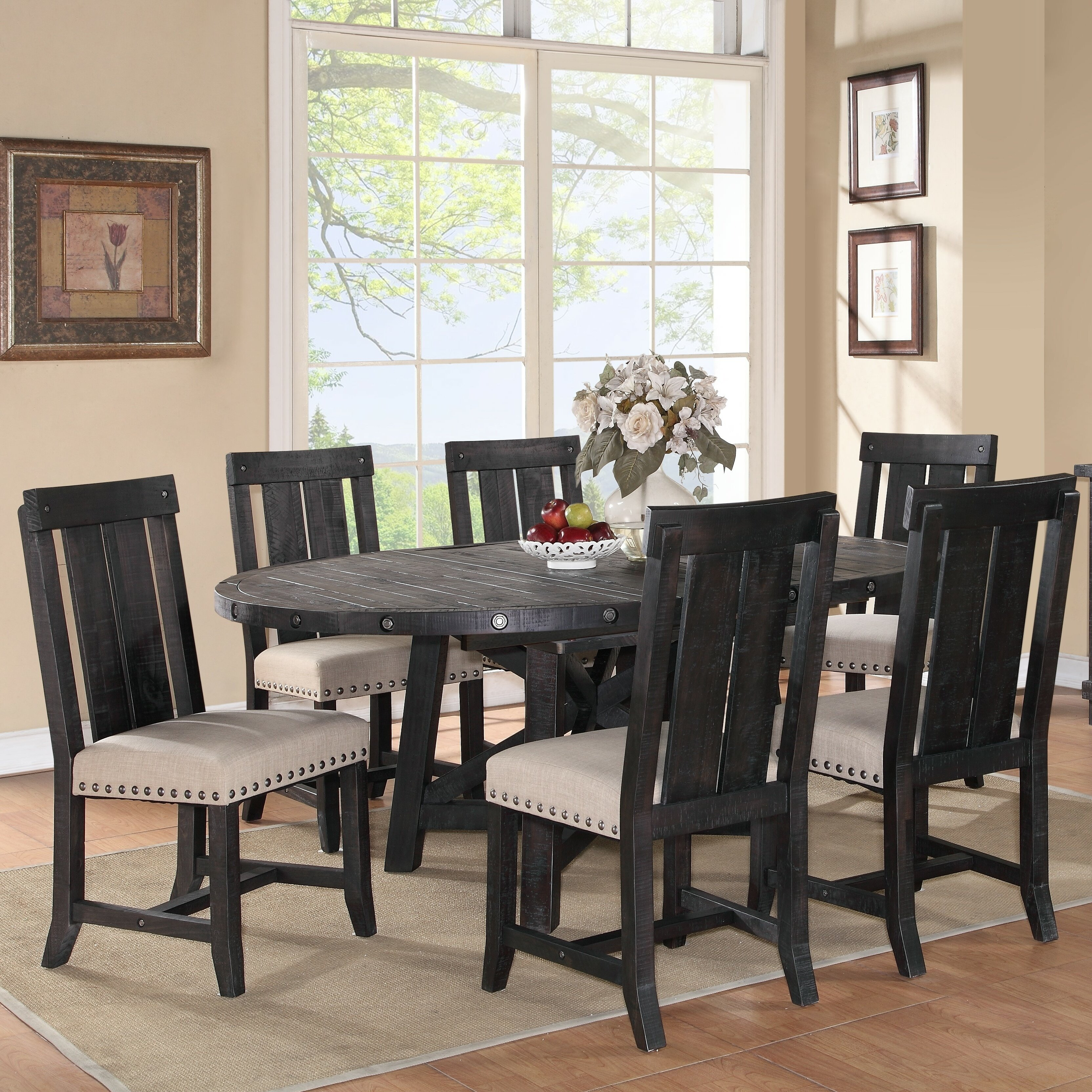 Trent austin design del rio 7 piece dining set reviews - Dining room sets austin tx ...