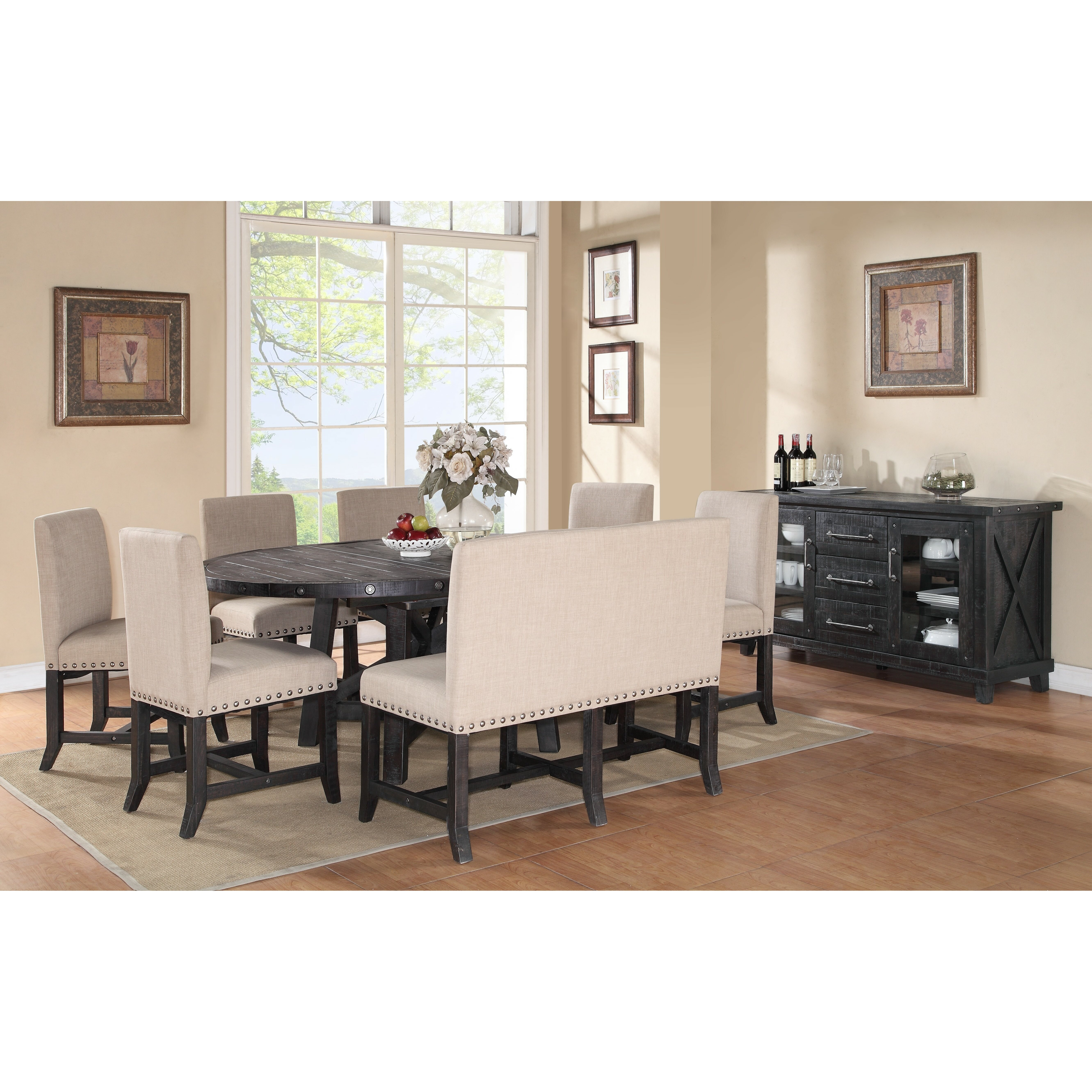 Trent austin design del rio 8 piece dining set reviews - Dining room tables austin ...