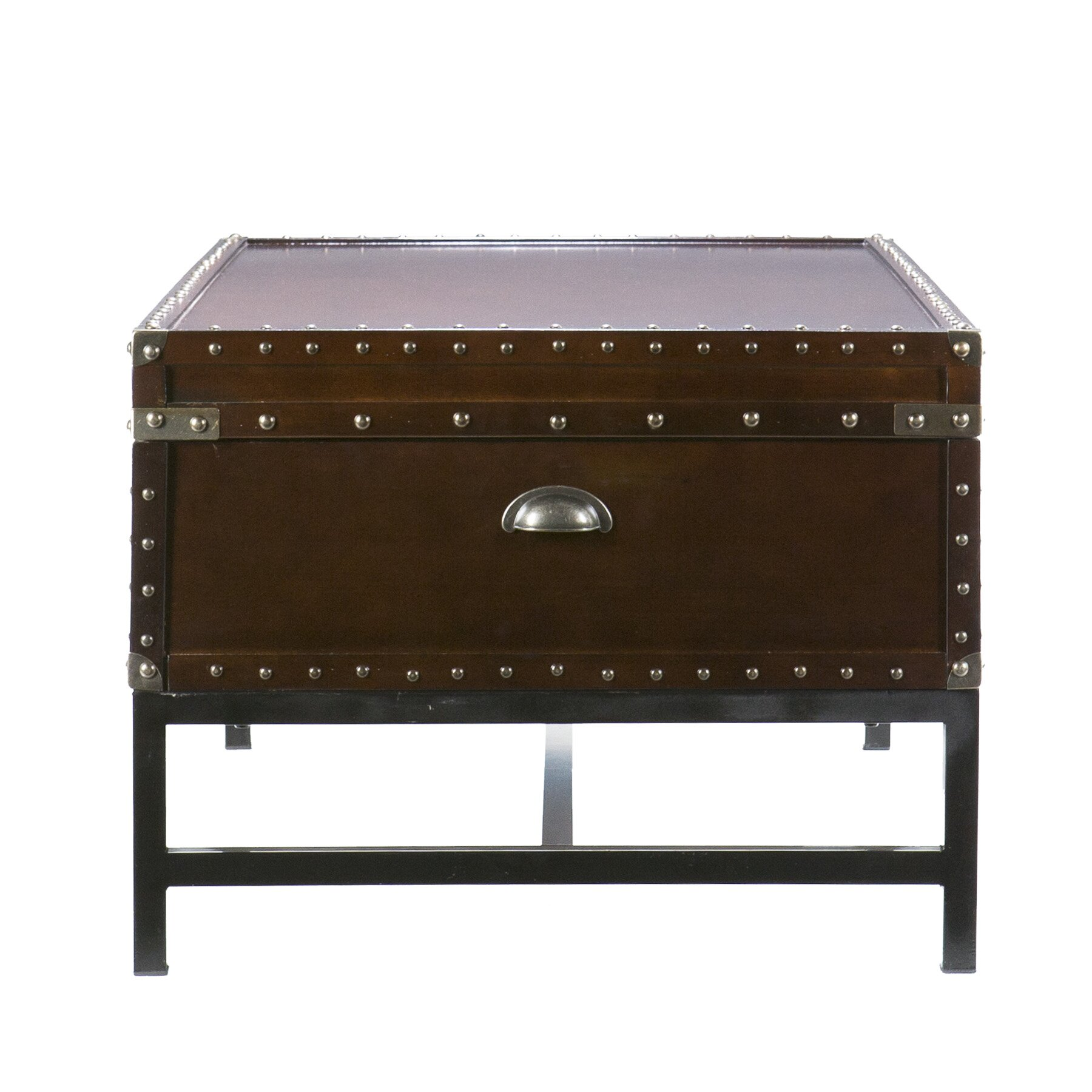 Trent austin design aztec trunk coffee table reviews wayfair Trunk coffee tables