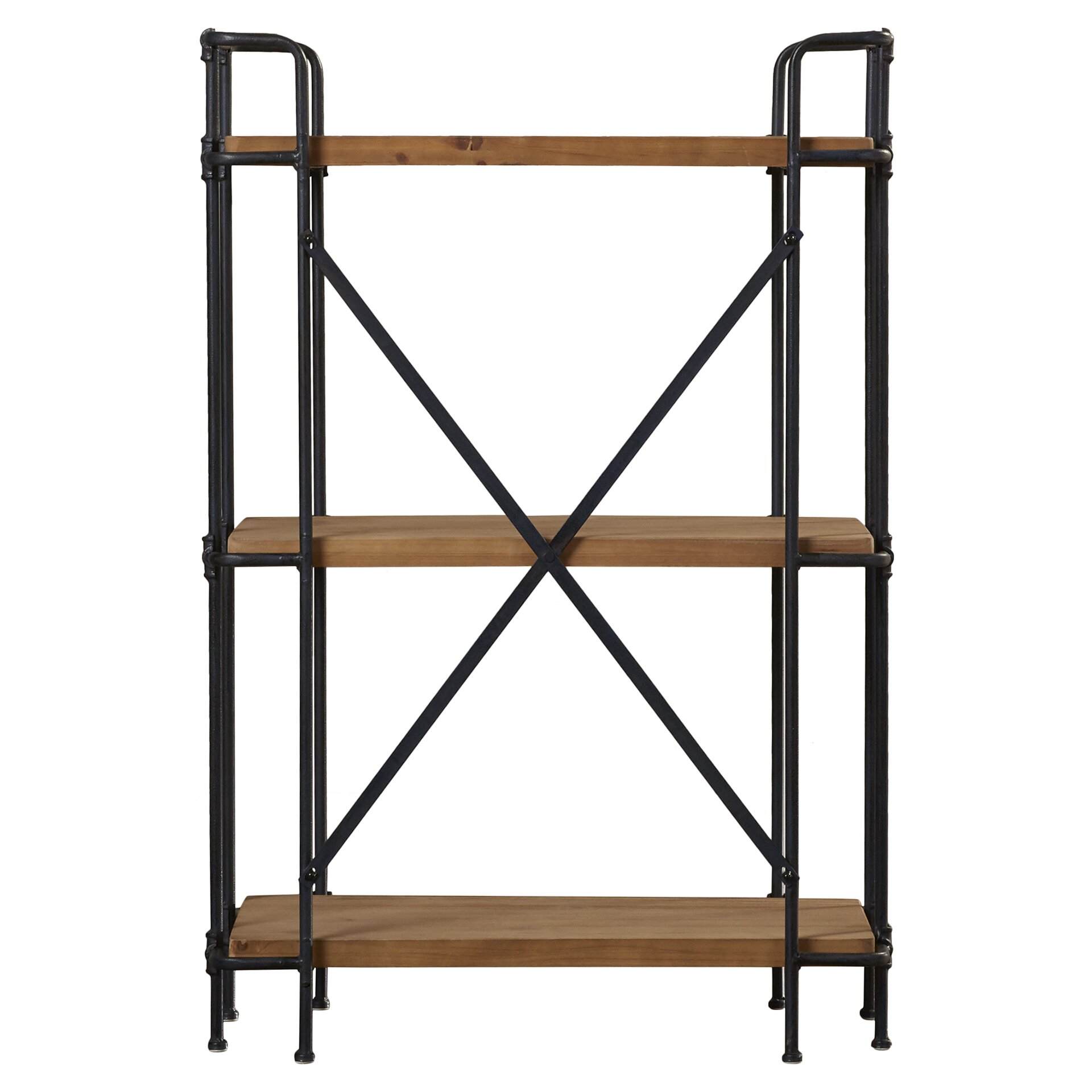 trent austin design brookshire 41 etagere bookcase reviews wayfair. Black Bedroom Furniture Sets. Home Design Ideas