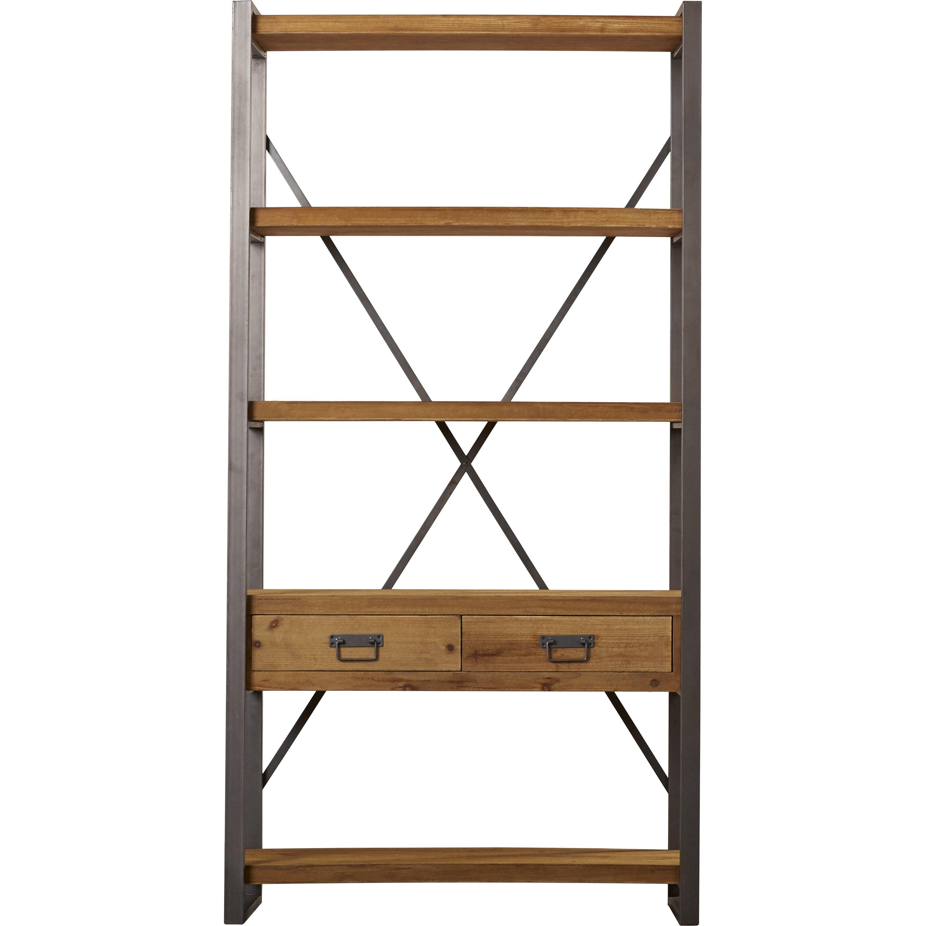 trent austin design lex 77 etagere bookcase wayfair. Black Bedroom Furniture Sets. Home Design Ideas
