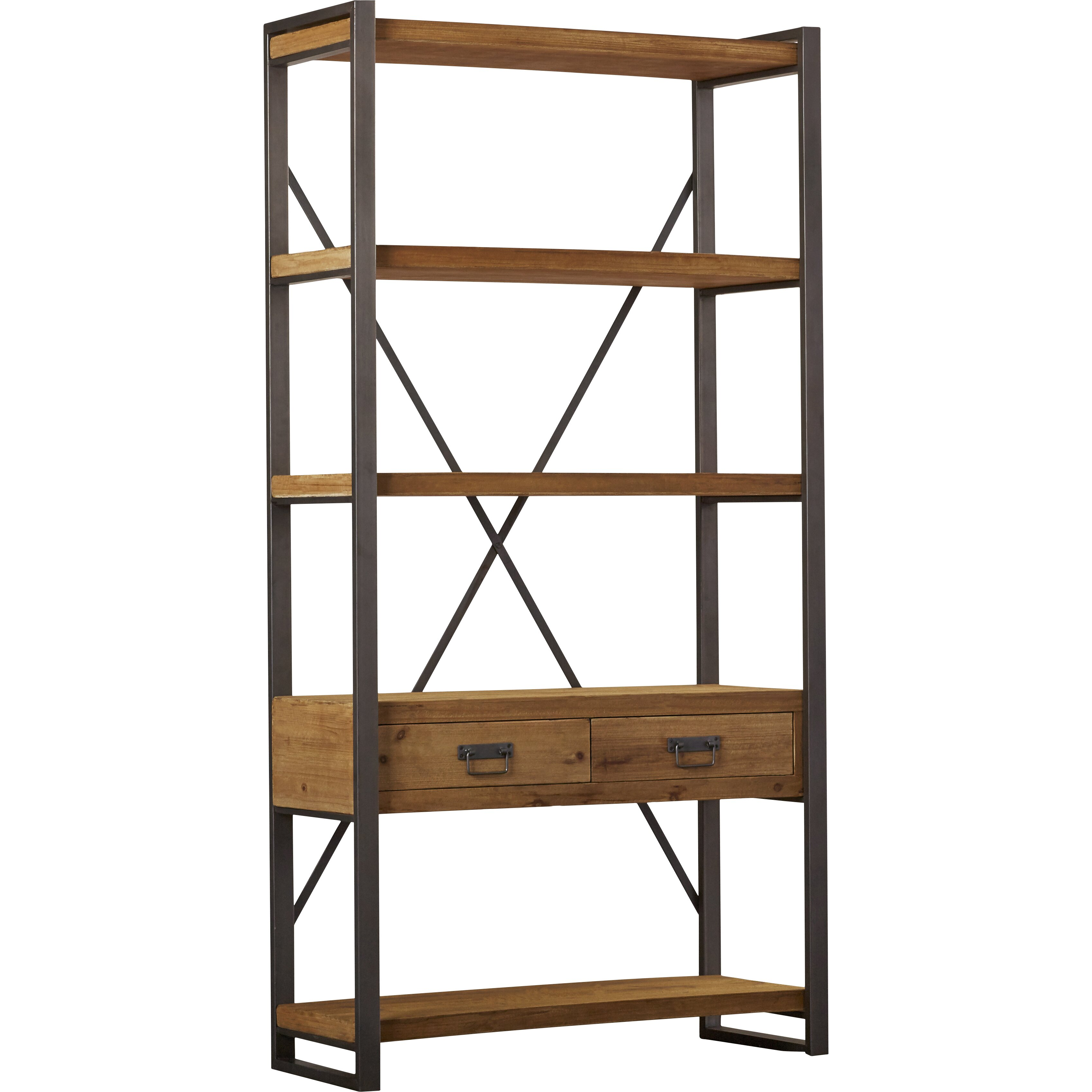 trent austin design lex 77 etagere bookcase wayfair. Black Bedroom Furniture Sets. Home Design Ideas