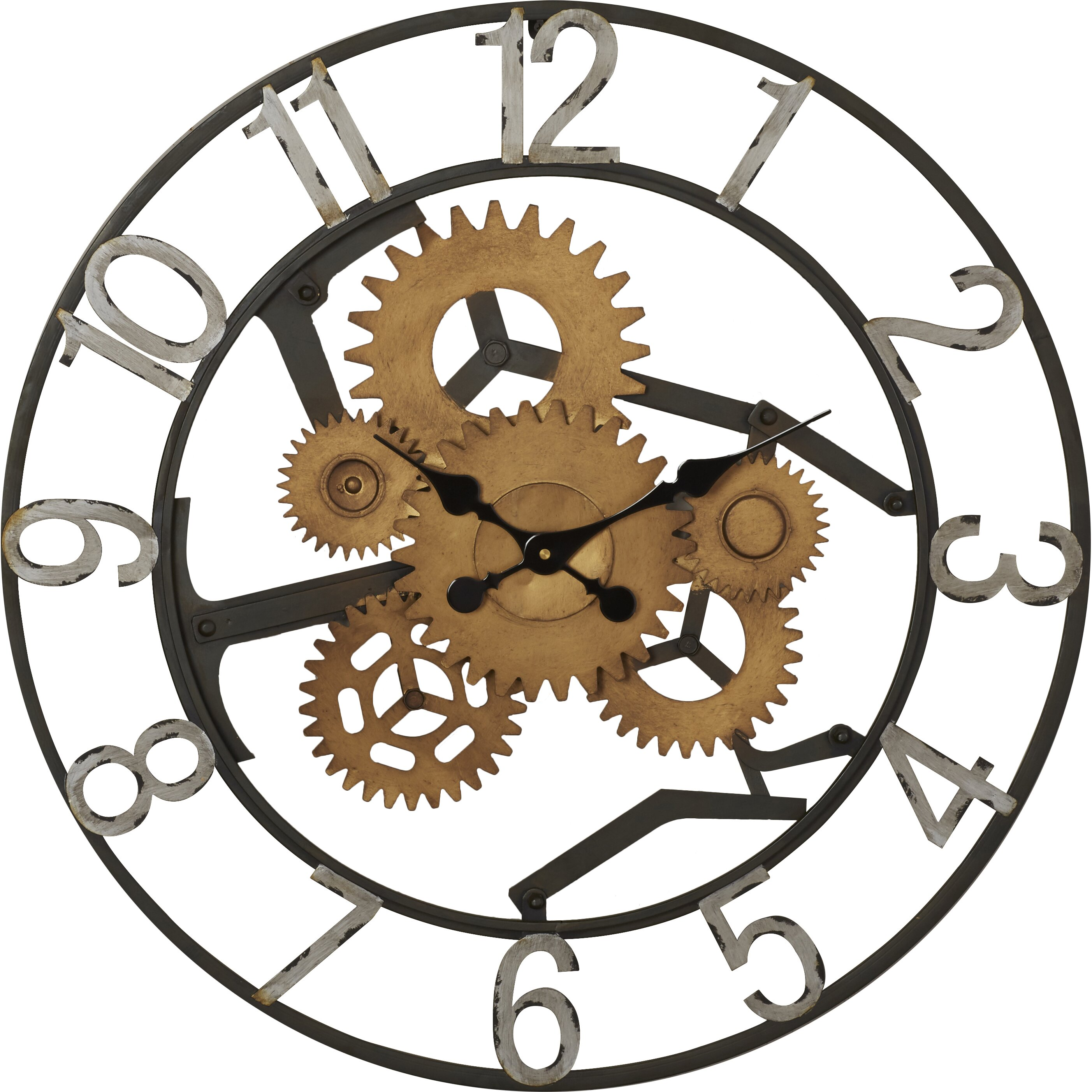 Trent Austin Design Gears Wall Clock Wayfair