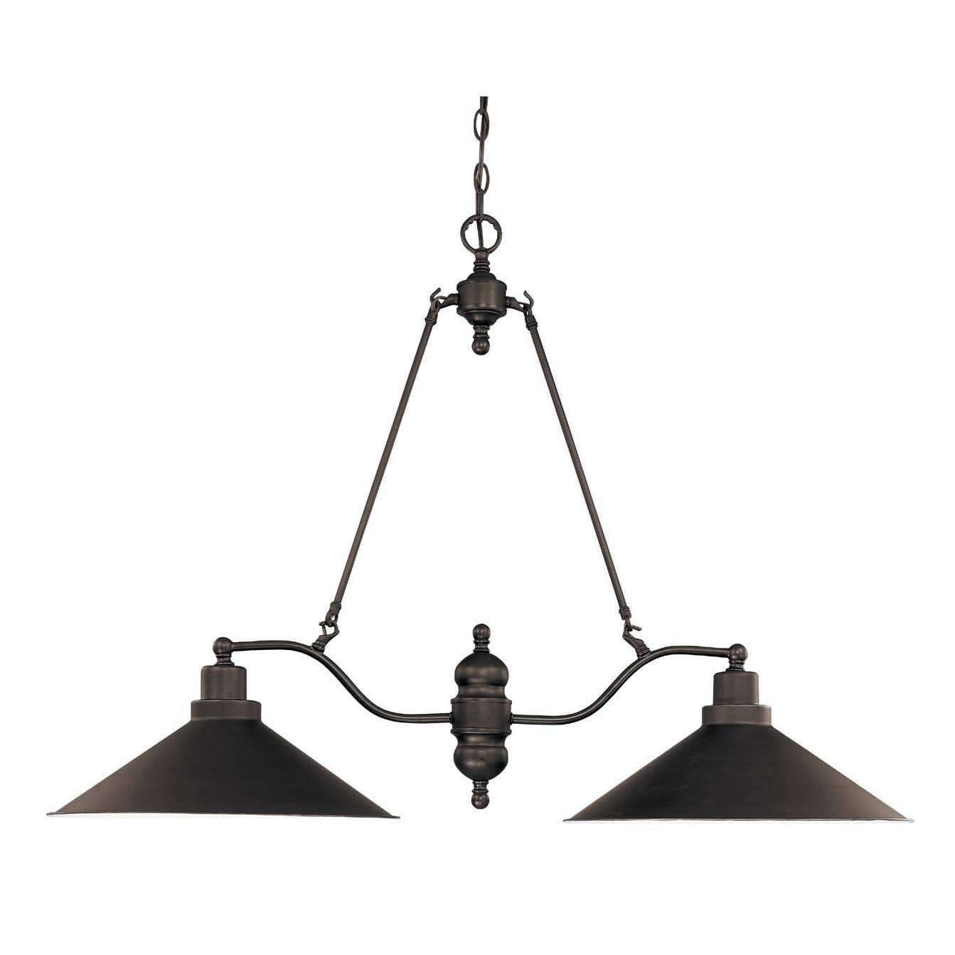 Kitchen Island Pendant Lighting: Trent Austin Design Schaff 2 Light Kitchen Island Pendant