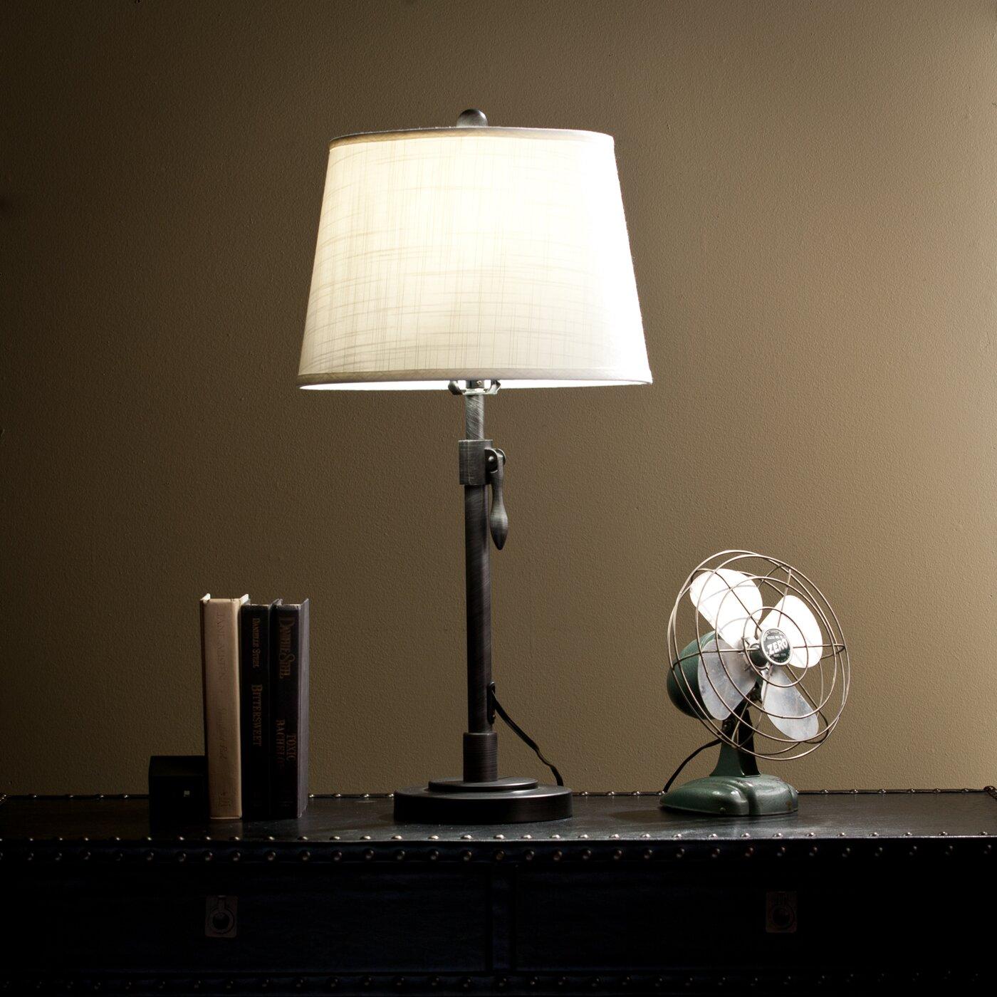 Trent austin design needles 31 table lamp reviews wayfair for Table lamps austin tx
